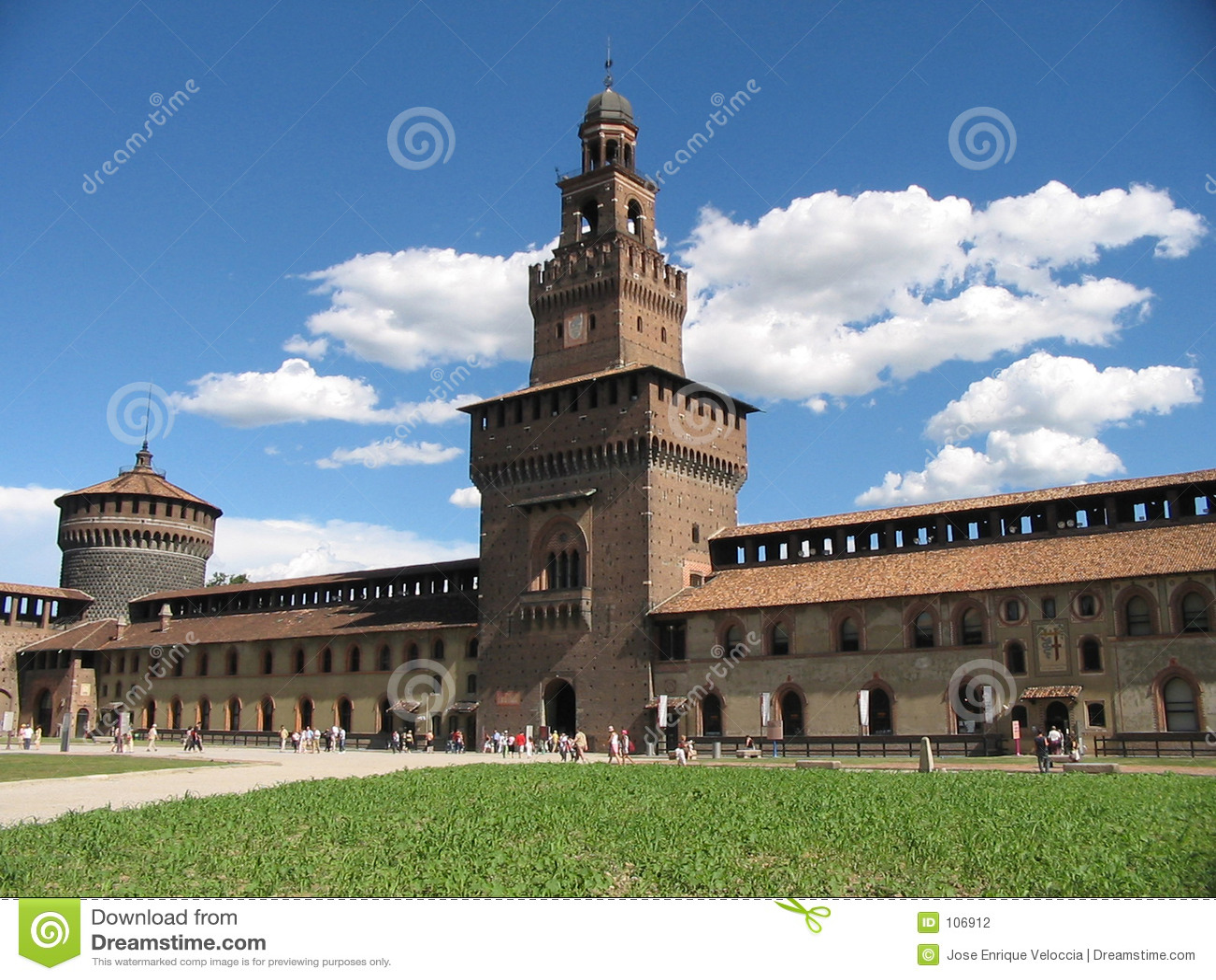 Di Milão de Castello