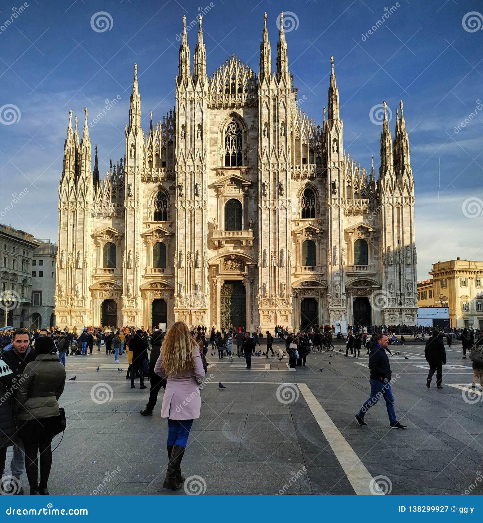 Di Milaan van Duomo