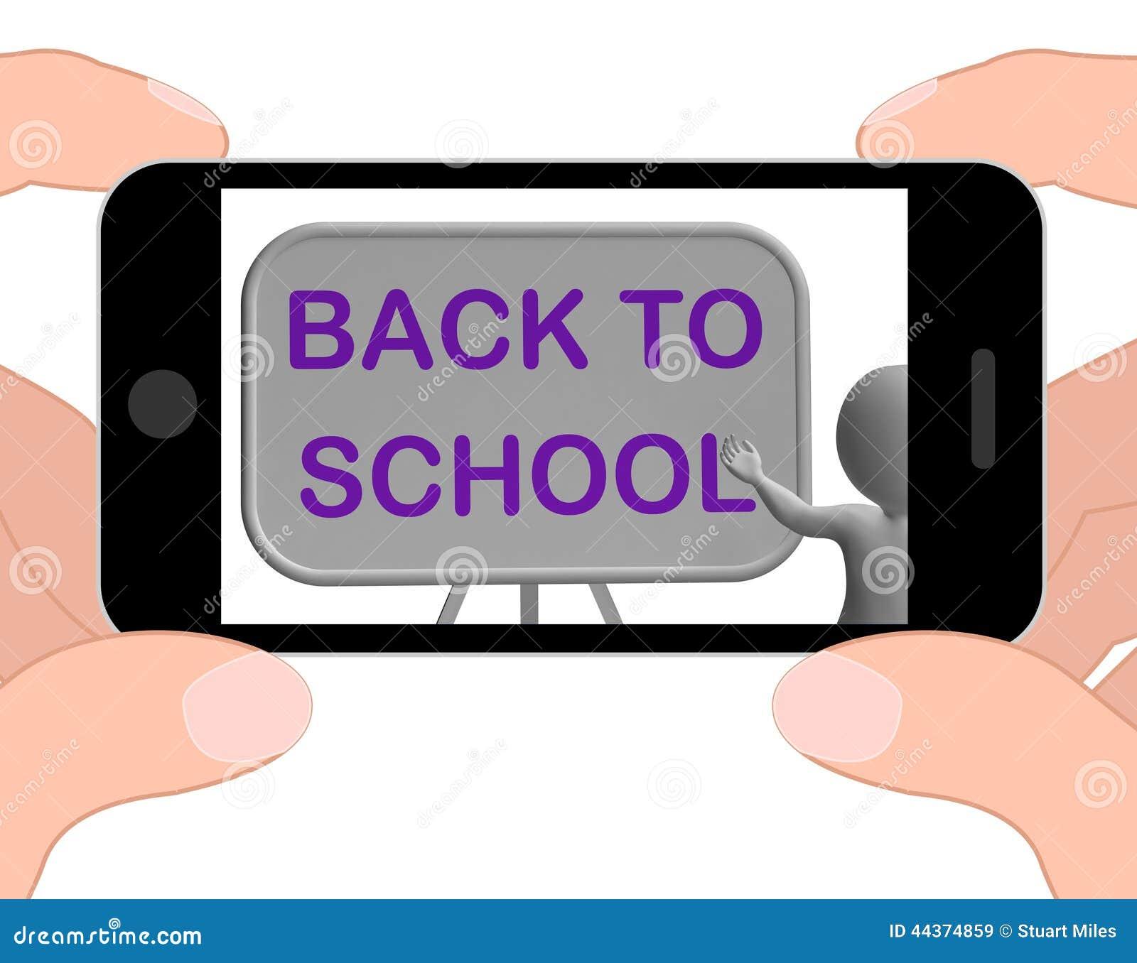 Di nuovo alle manifestazioni del telefono della scuola che imparano ed ai rifornimenti della cancelleria