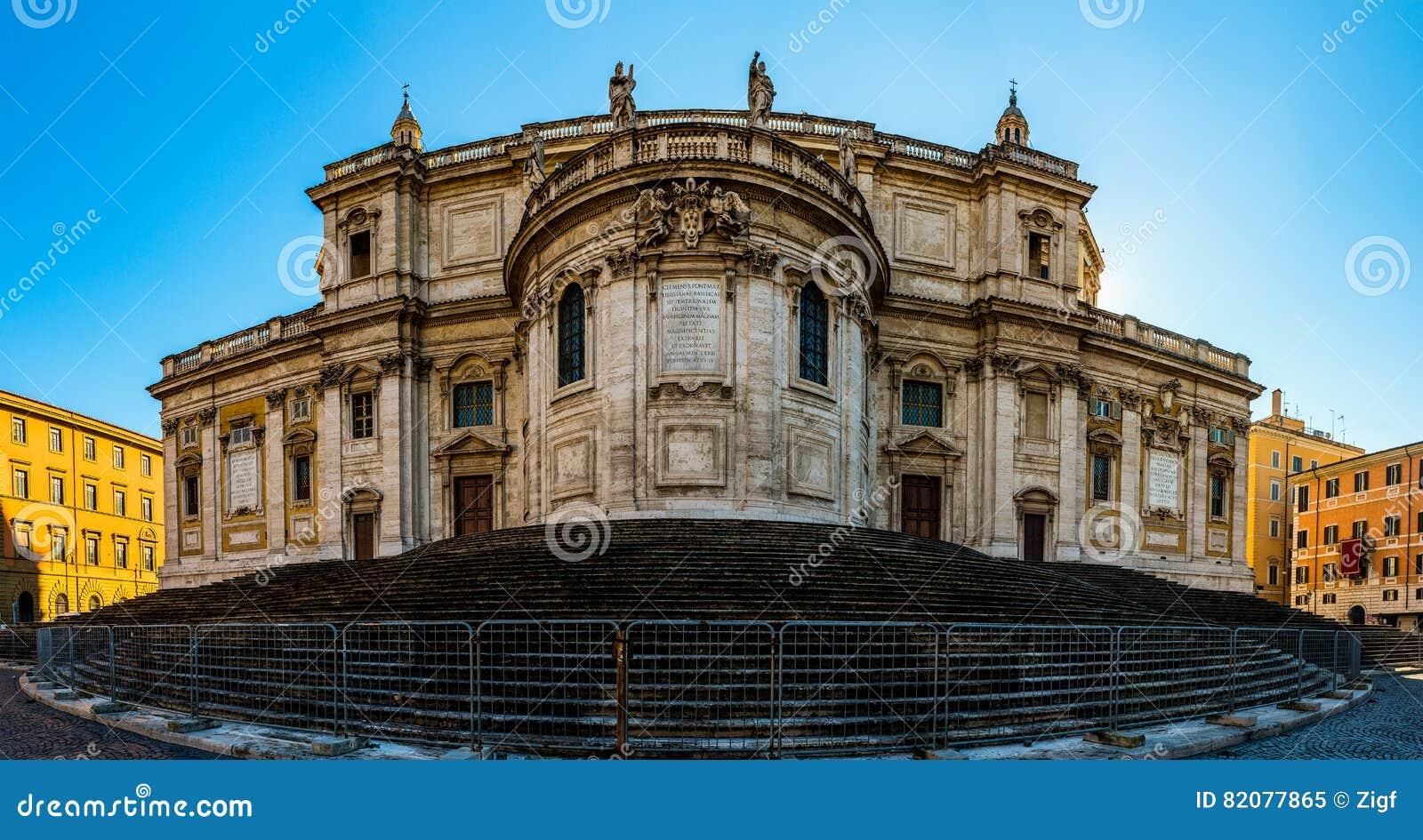 Di Santa Maria Maggiore de basilique à Rome, Italie