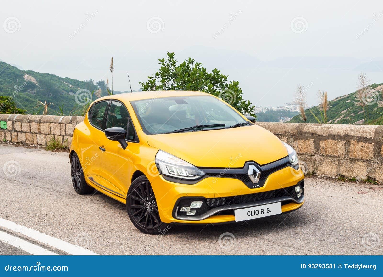 Dia Da Movimentacao Do Teste De Renault Clio Rs 2017 Foto Editorial Imagem De 2017 Clio 93293581