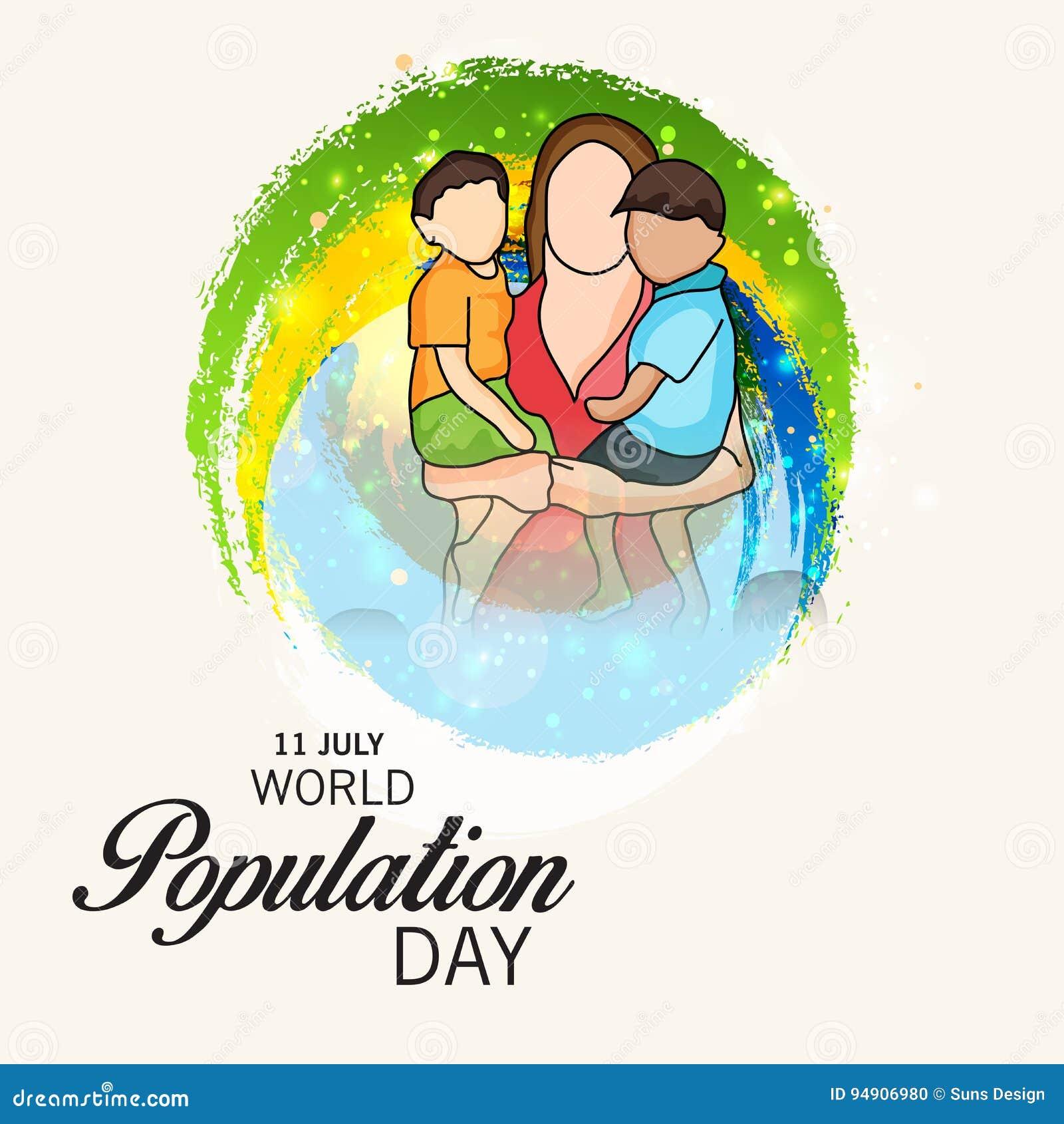 Dia da população de mundo