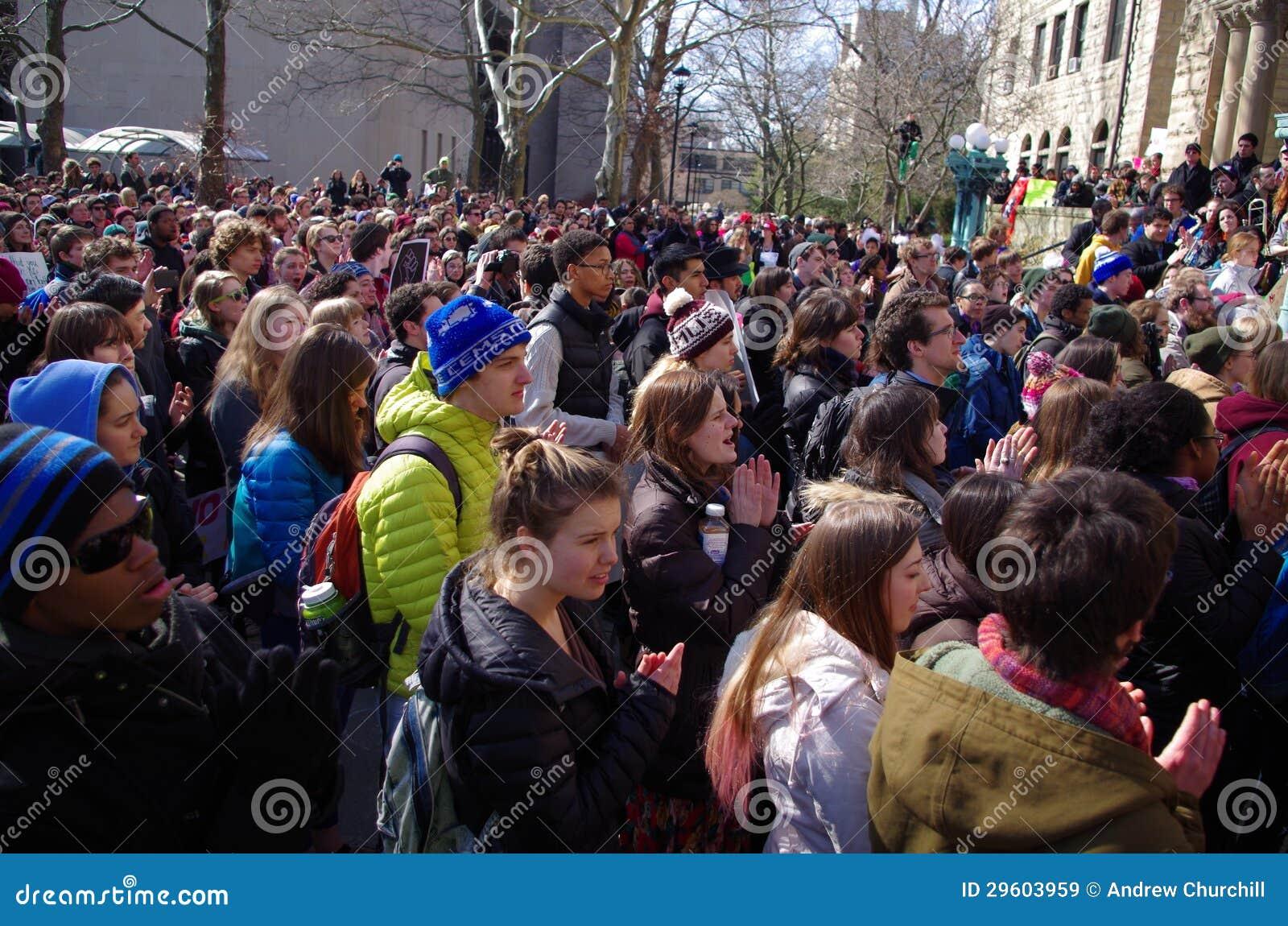 Dia da solidariedade na faculdade de Oberlin