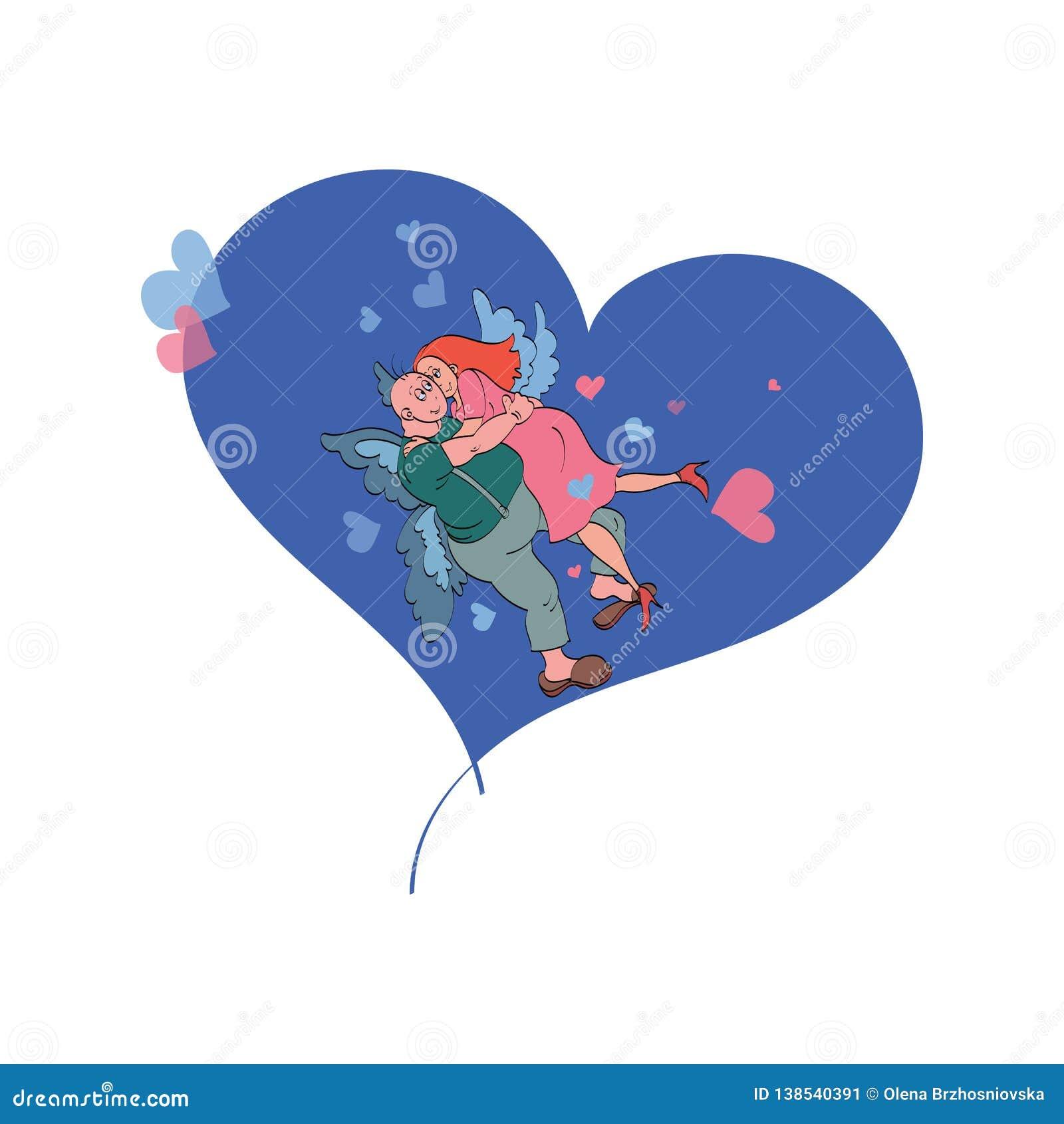Dia de Valentim feliz, cartão do vetor