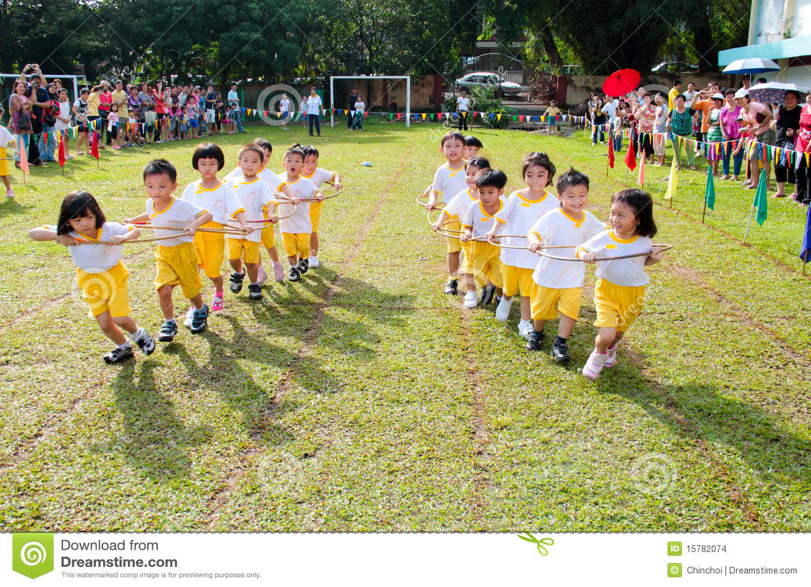 Dia do esporte de Kintergarden
