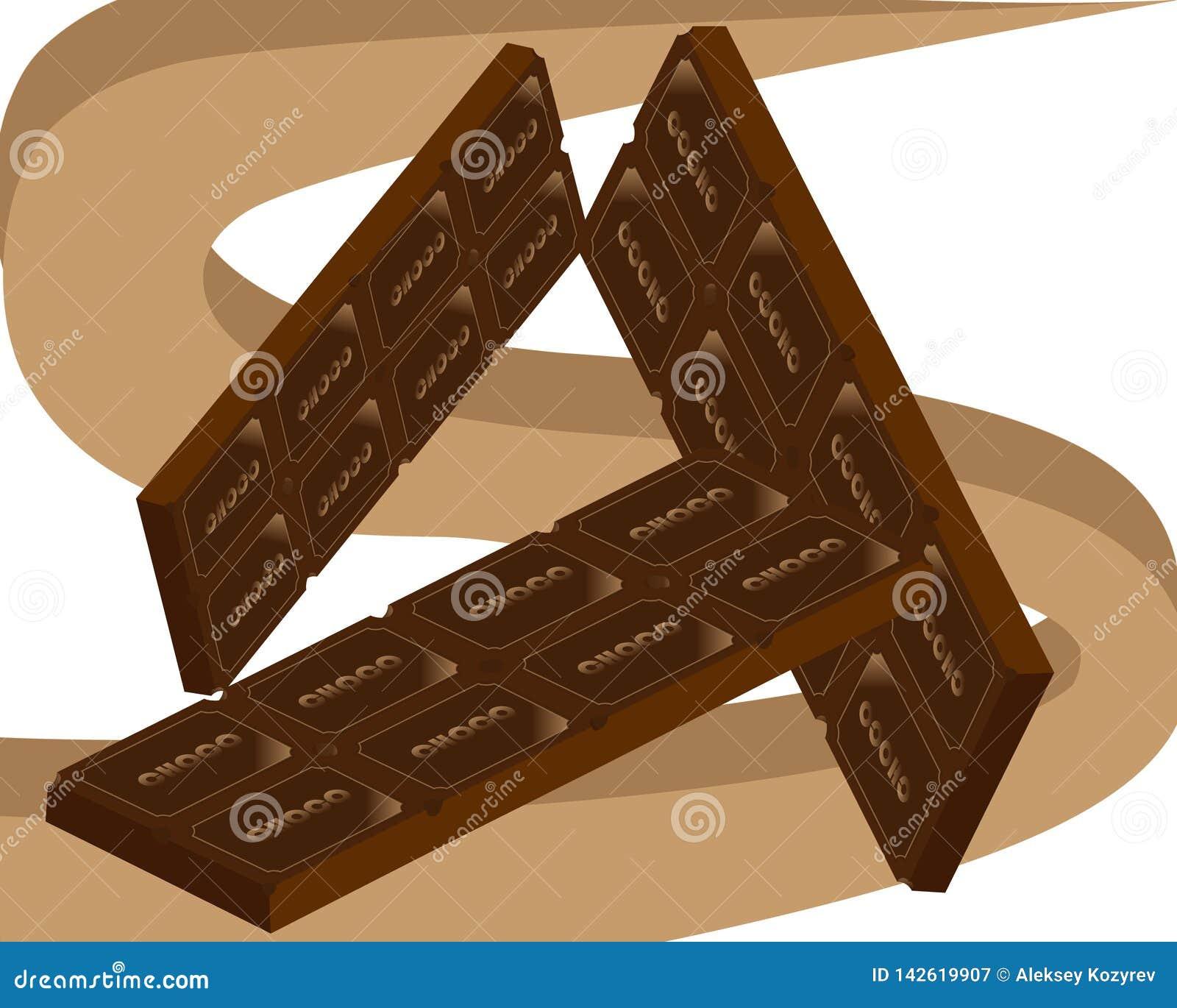 Dia do mundo do feriado do chocolate e dos doces