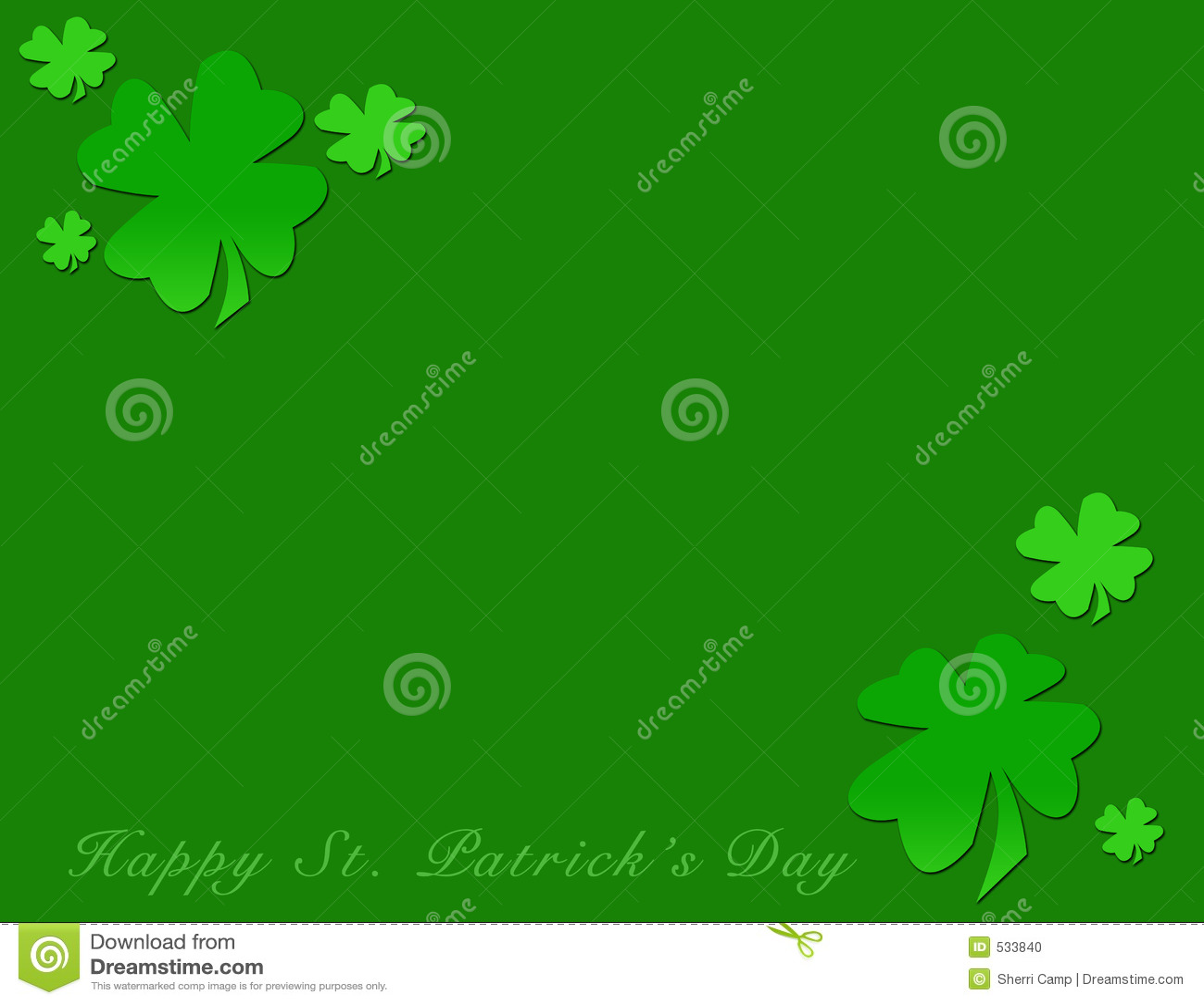 Dia do St. Patrick feliz
