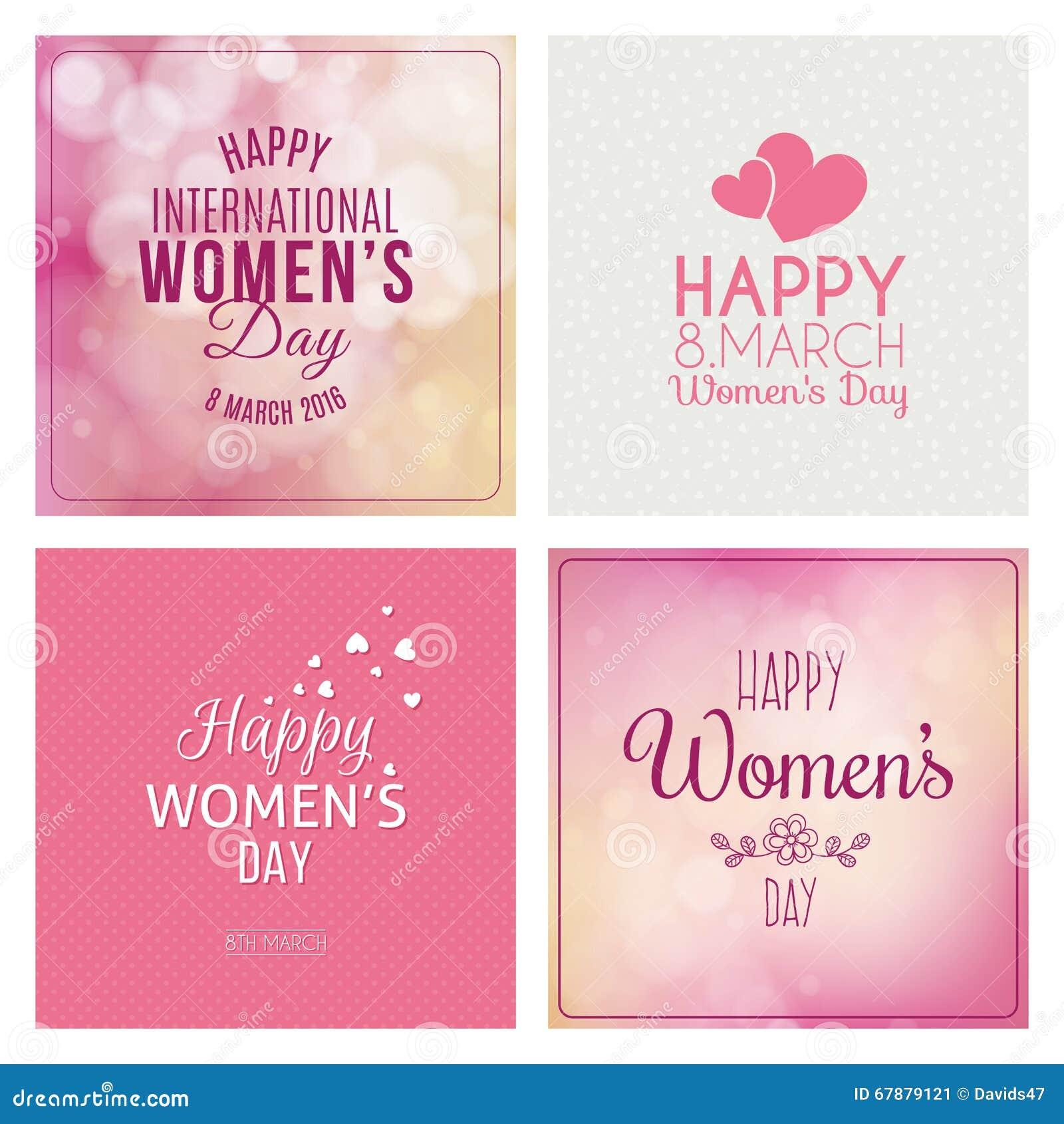 Dia feliz das mulheres