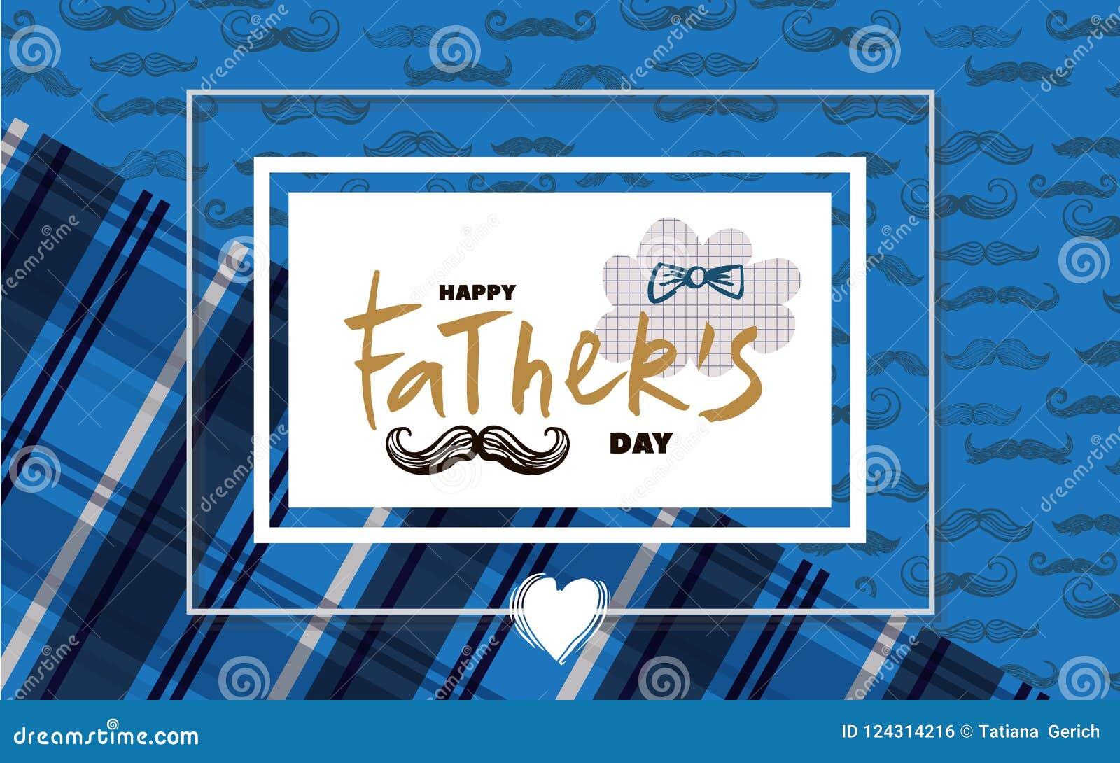 Dia feliz do ` s do pai