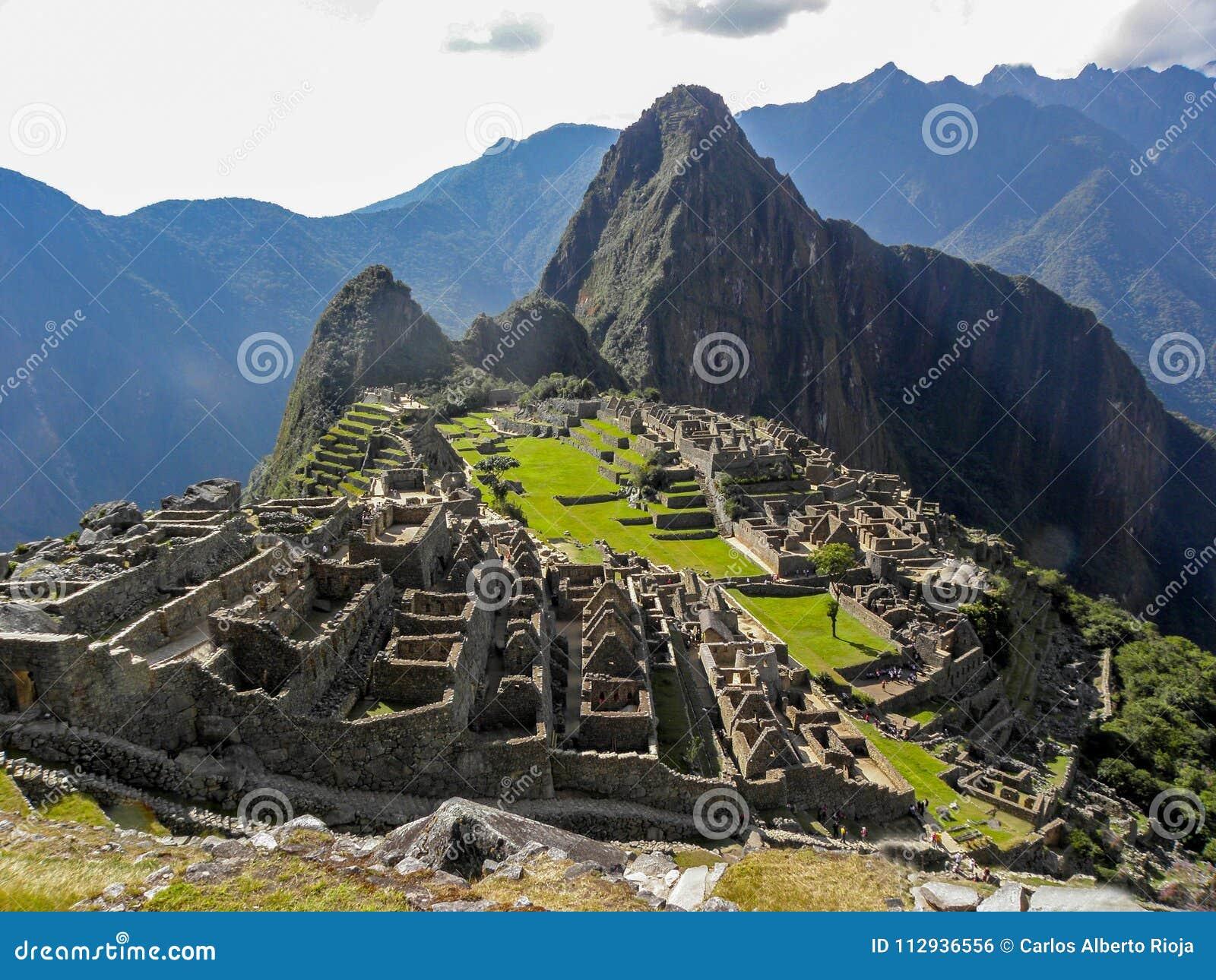 Dia panorâmico em Machu Picchu