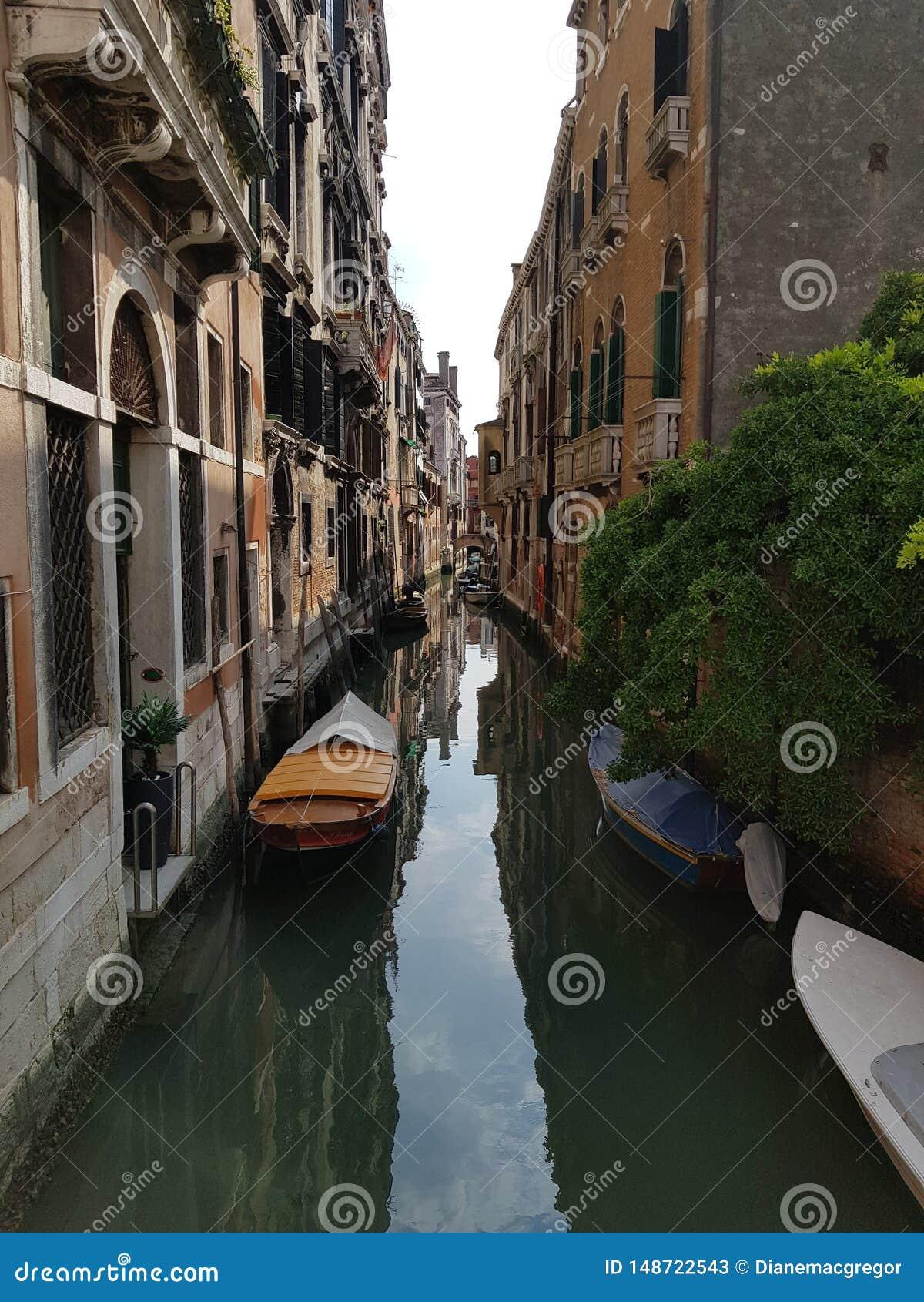 Dia preguiçoso em Veneza