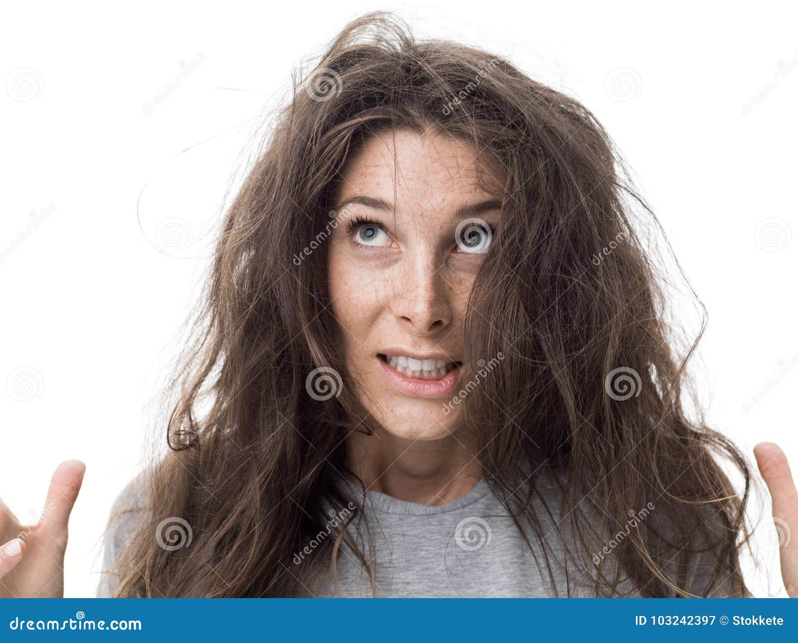 Dia ruim do cabelo