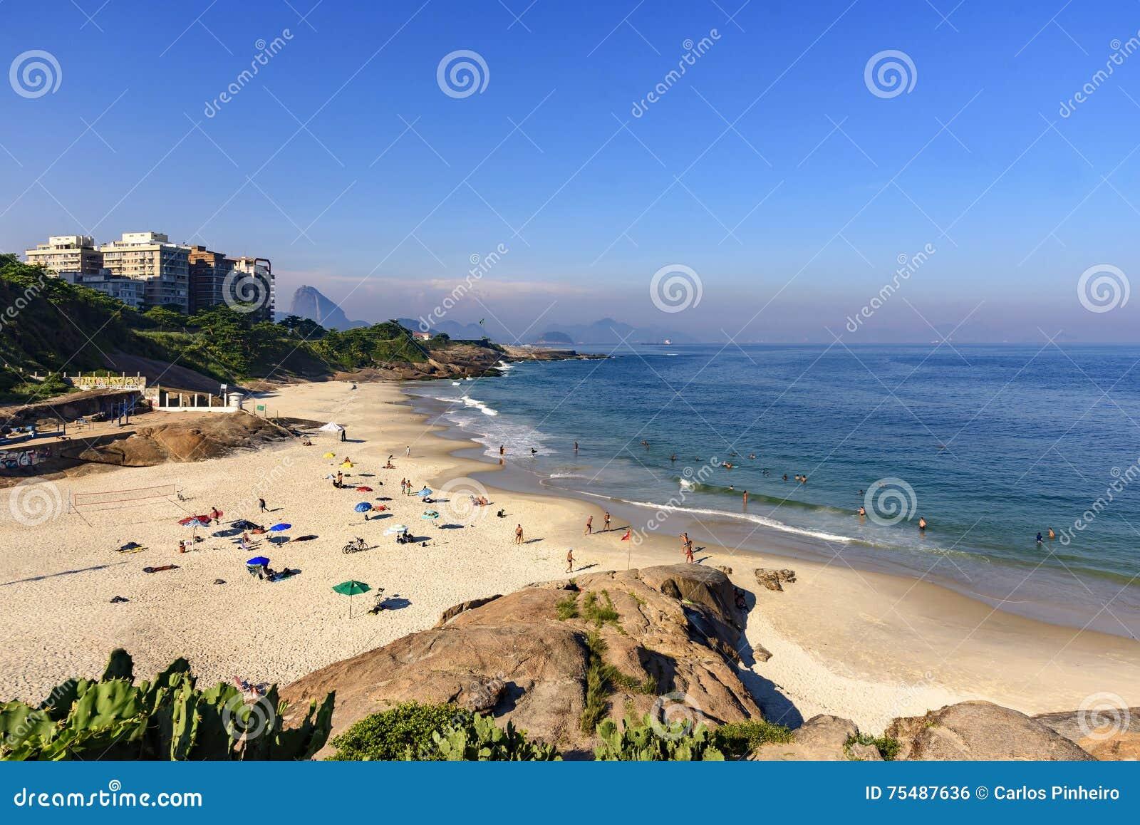 Diabeł plaża, Ipanema, Rio De Janeiro