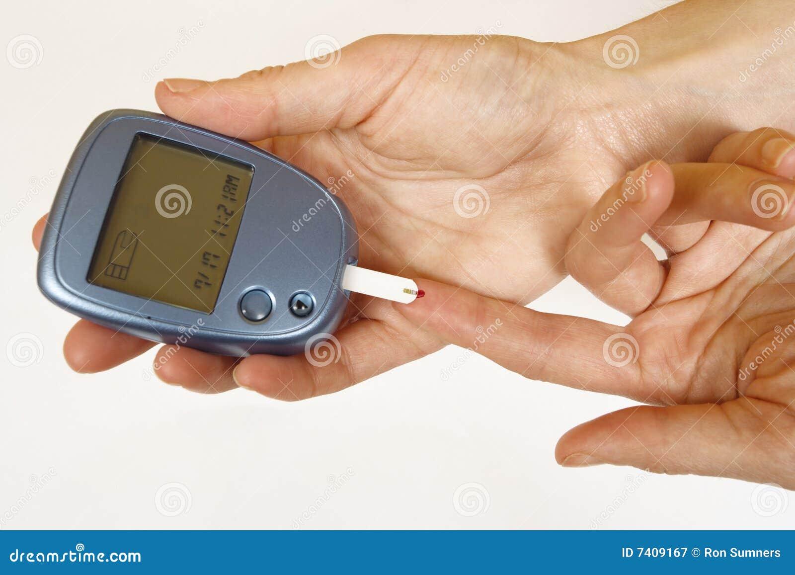 Diabetes self-test