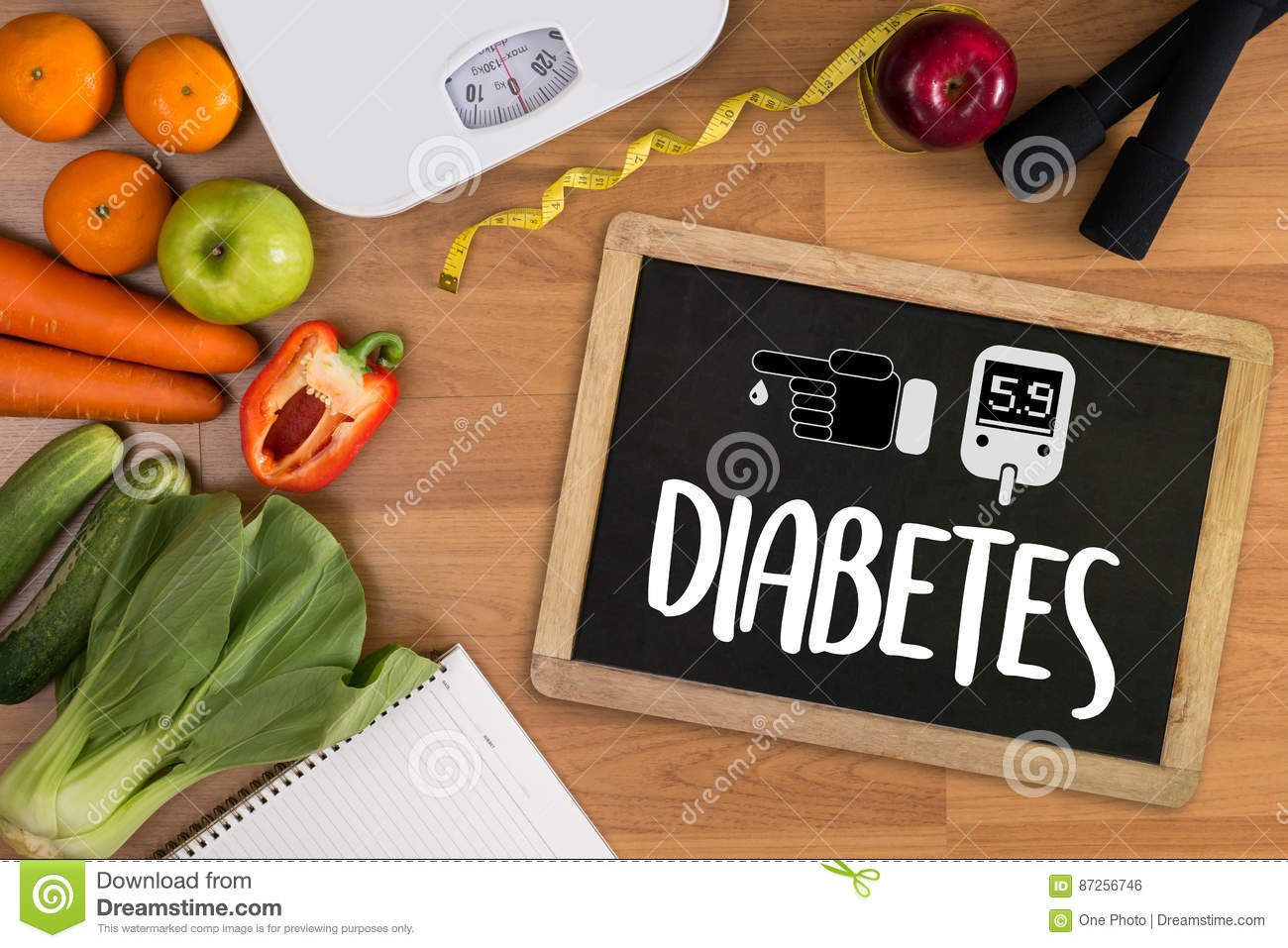 a diabetes test, health Medical Concept , Obesity , blood test