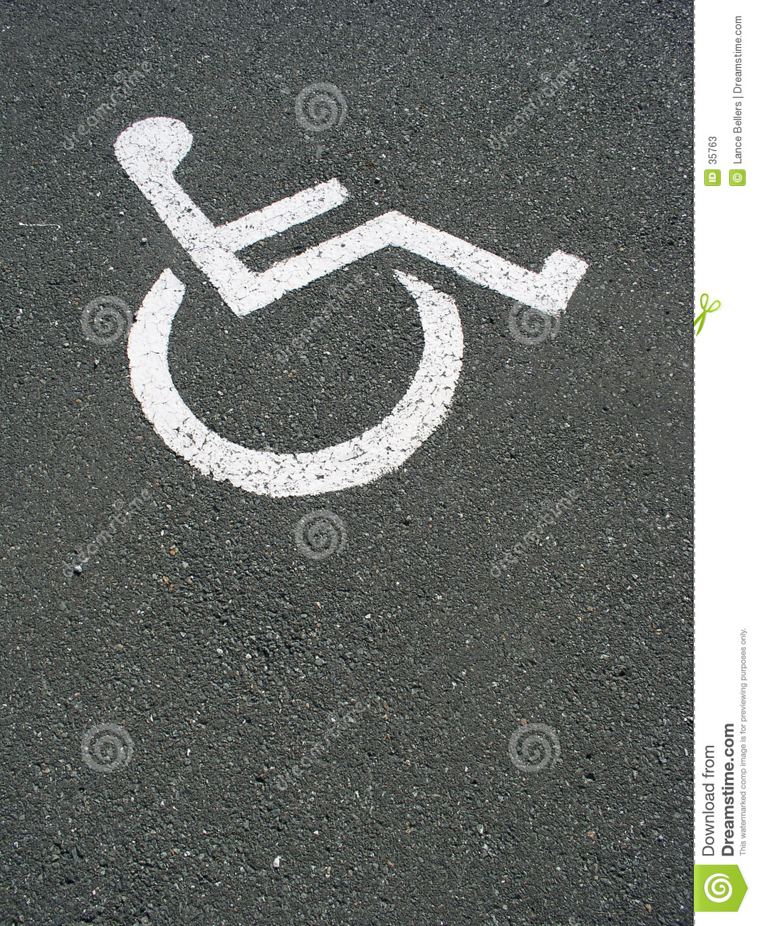 Diabled parking