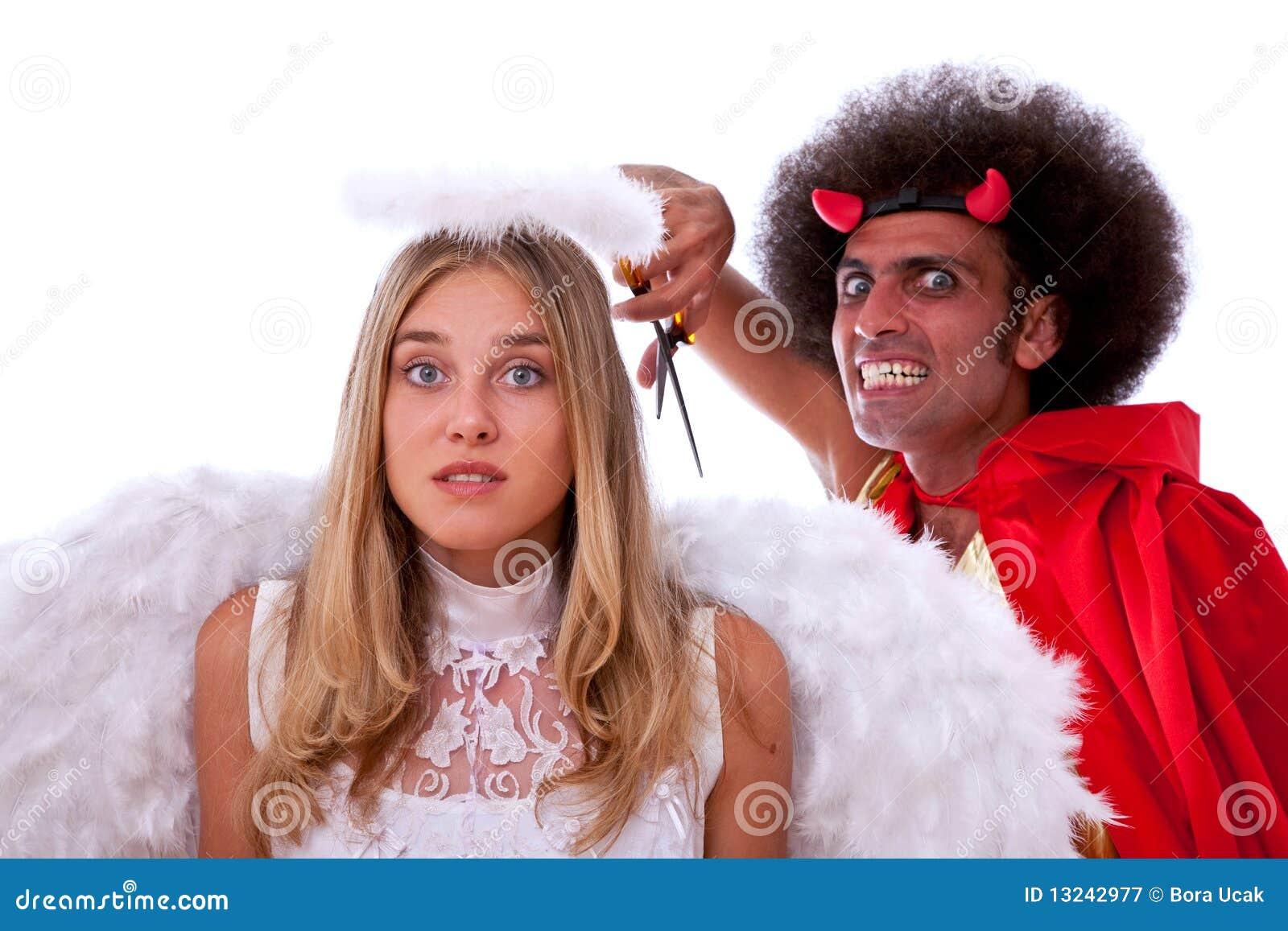Diablo y ángel