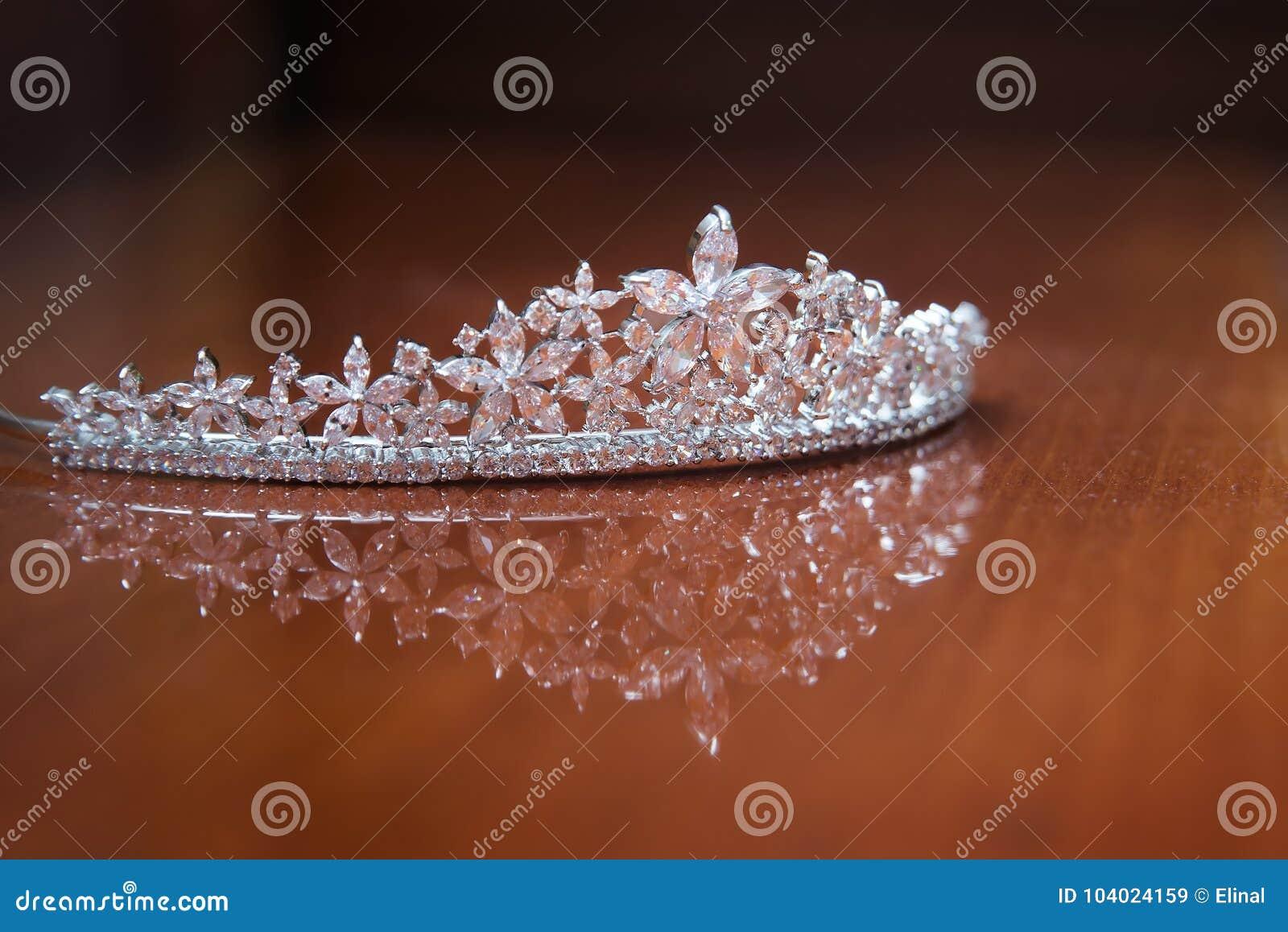 Diadema do casamento, coroa para a princesa Joia, riqueza
