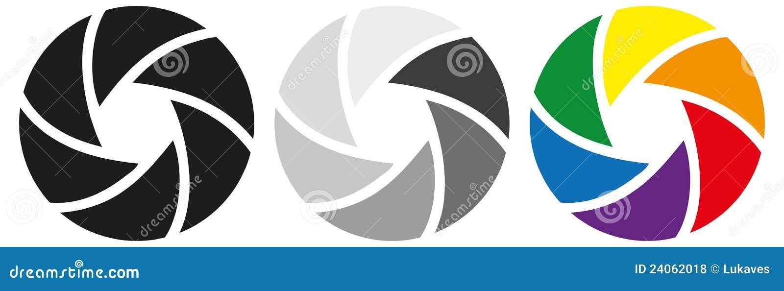 Diafragma ilustración del vector. Ilustración de stylization - 24062018
