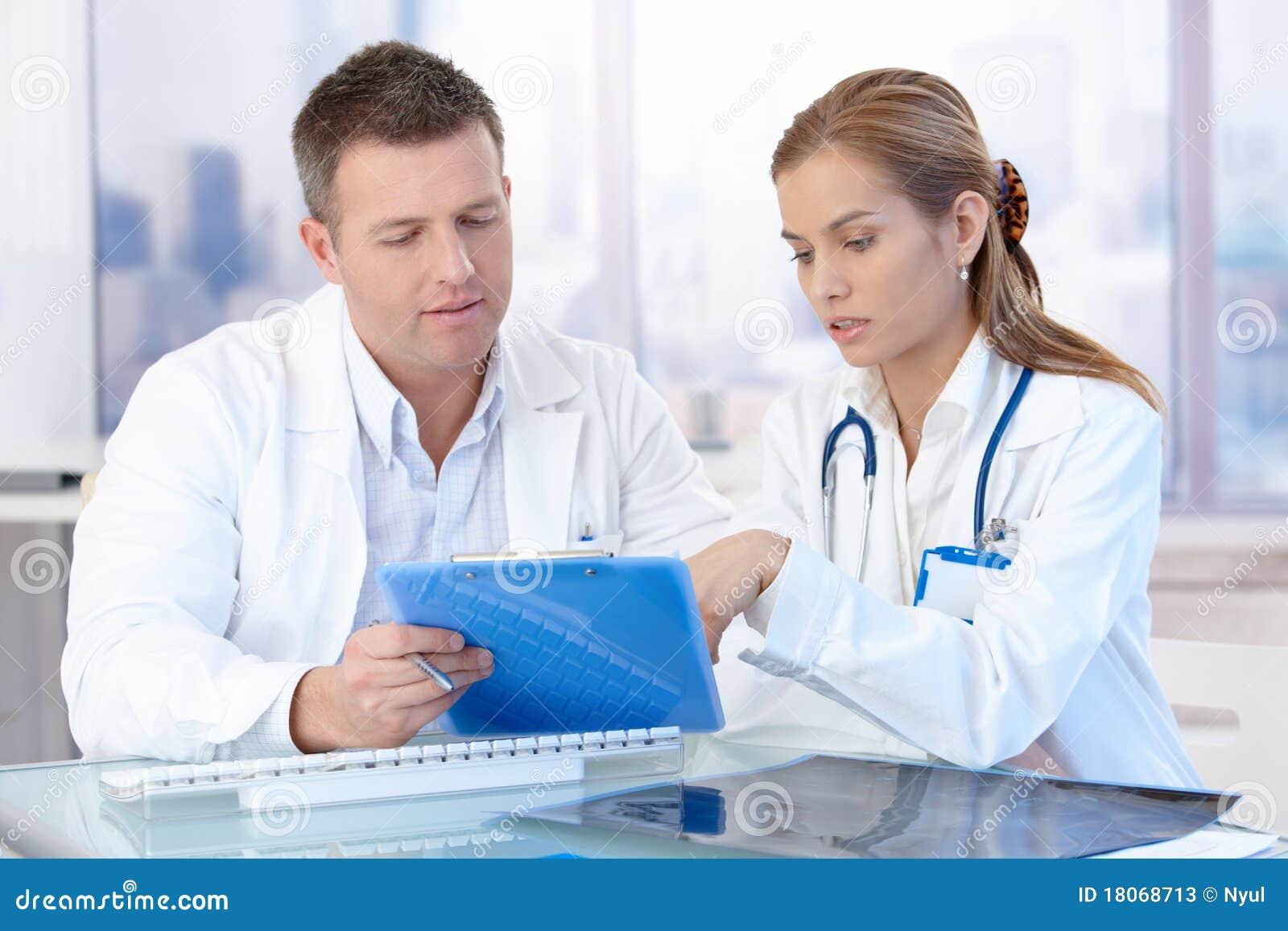 Diagnos som diskuterar doktorskontorsbarn