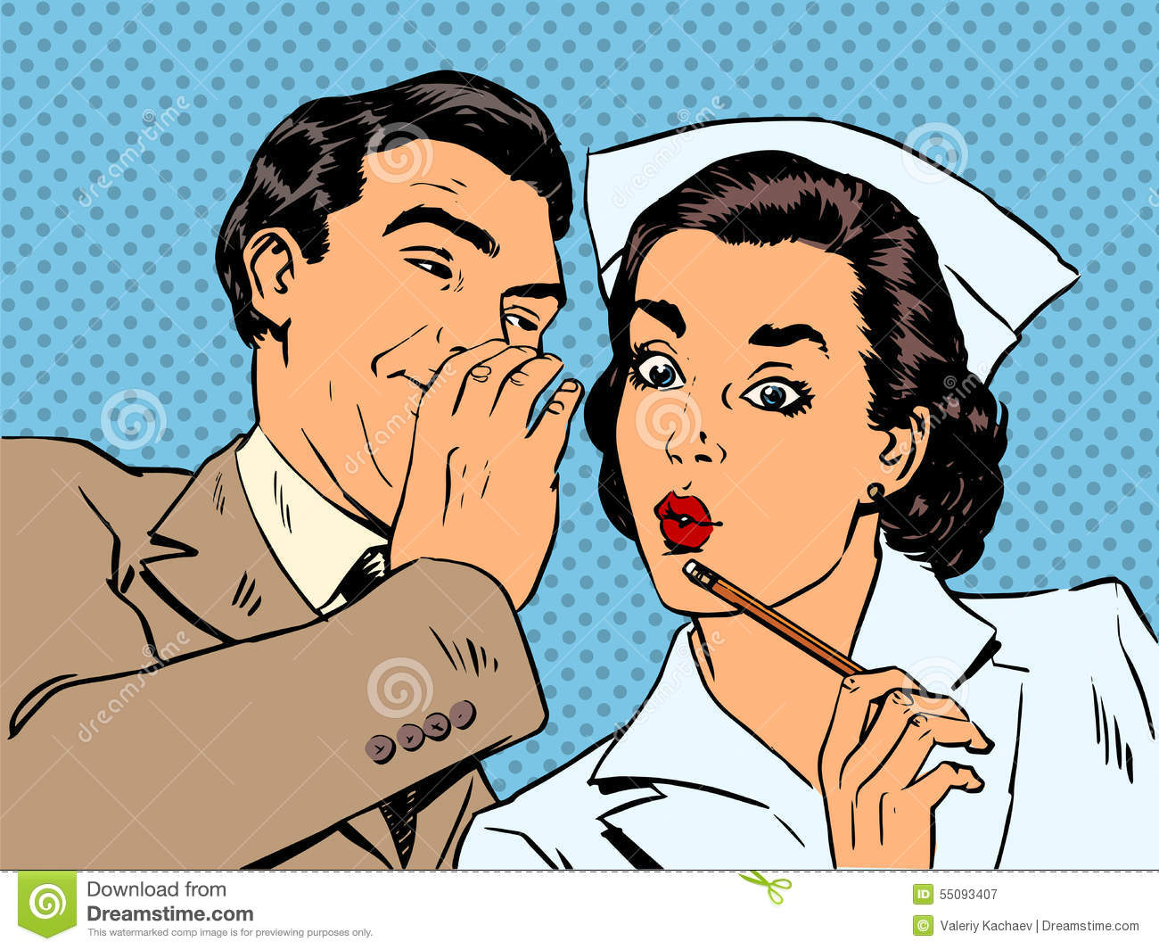 nurses flirting with patients Yes some male patients do make advances to female nurses, and it can be vis versa as well.