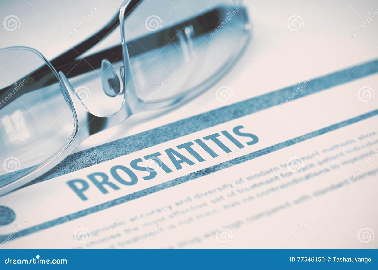 Diagnoza - Prostatitis pojęcie kłama medycyny pieniądze ustalonego stetoskop ilustracja 3 d
