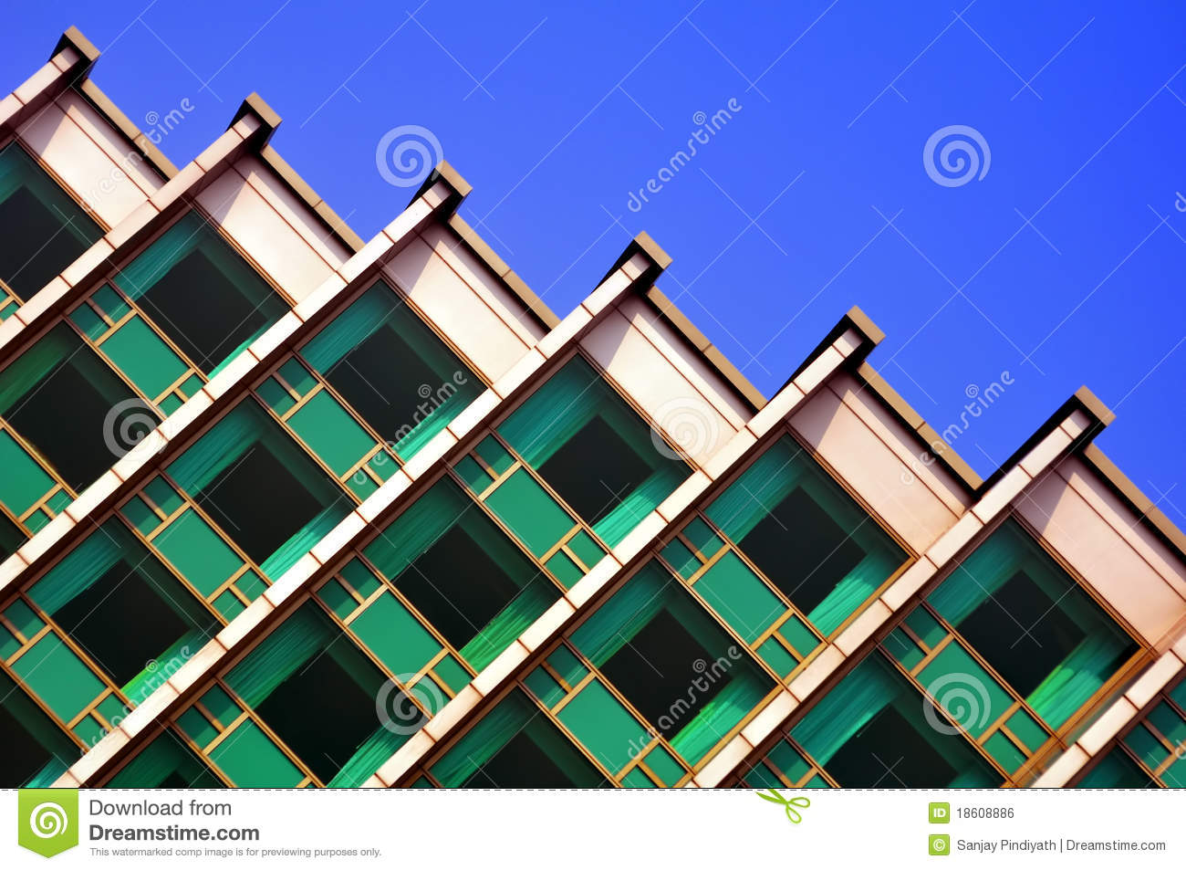 Diagonal architectural structure royalty free stock image for Architecte structure