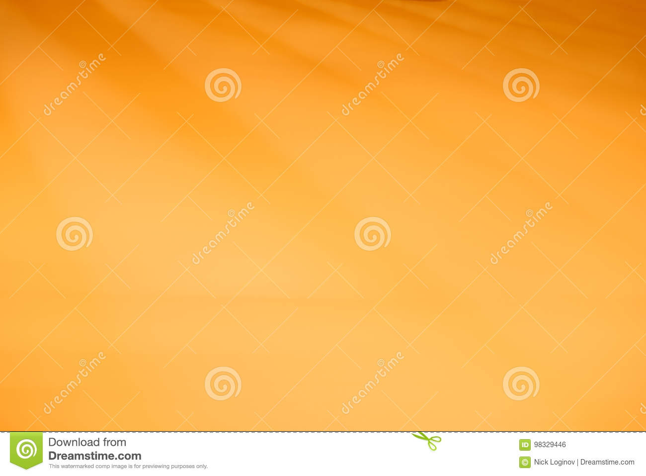Diagonal Orange Blank Paper Texture Background Stock