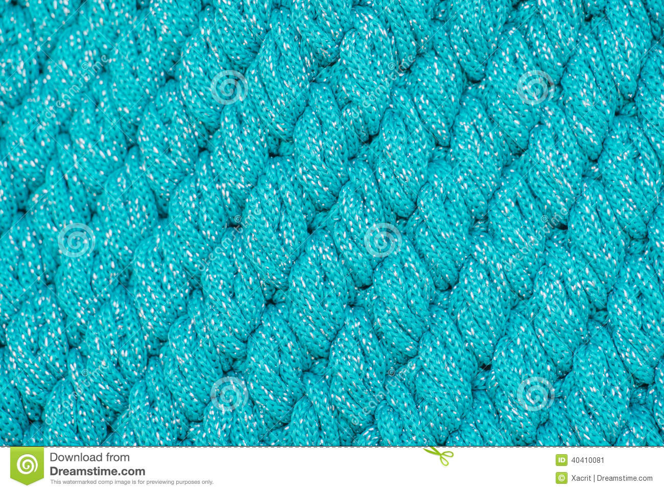 Knitting Stitch Orientation : Closeup Of Green Cable Knitting Stitch Stock Photography CartoonDealer.com ...