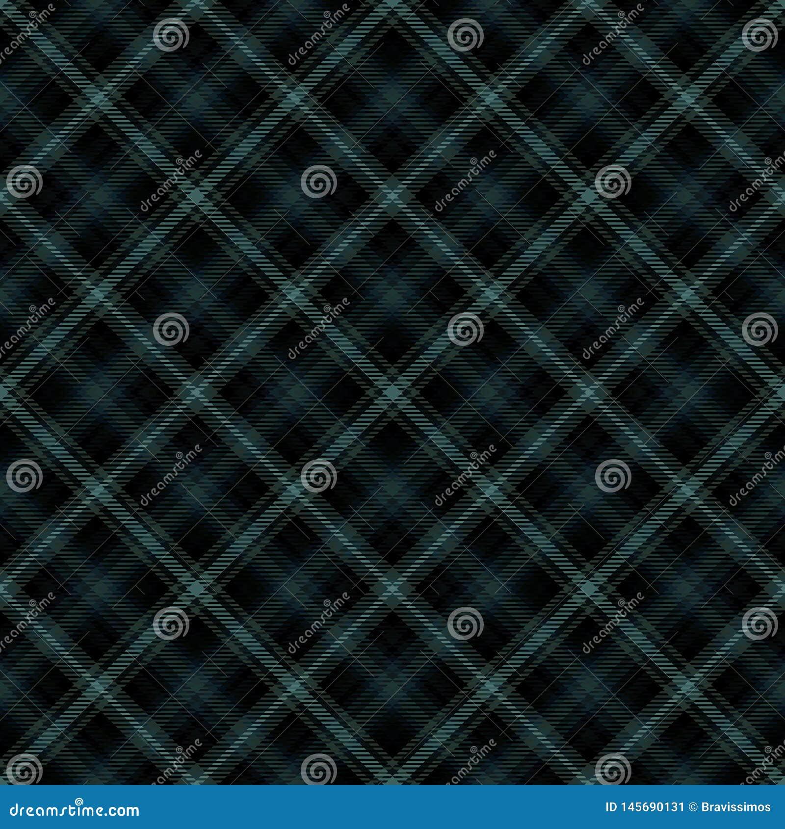 Diagonaler Schottenstoff des Gewebes, Mustergewebe, Clan