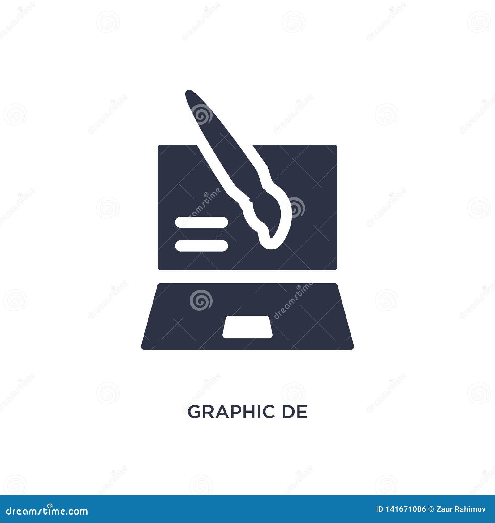 Diagram de symbol på vit bakgrund Enkel beståndsdelillustration från idérikt pocessbegrepp