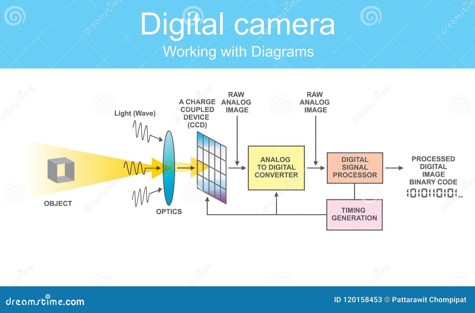 diagram digital dslr