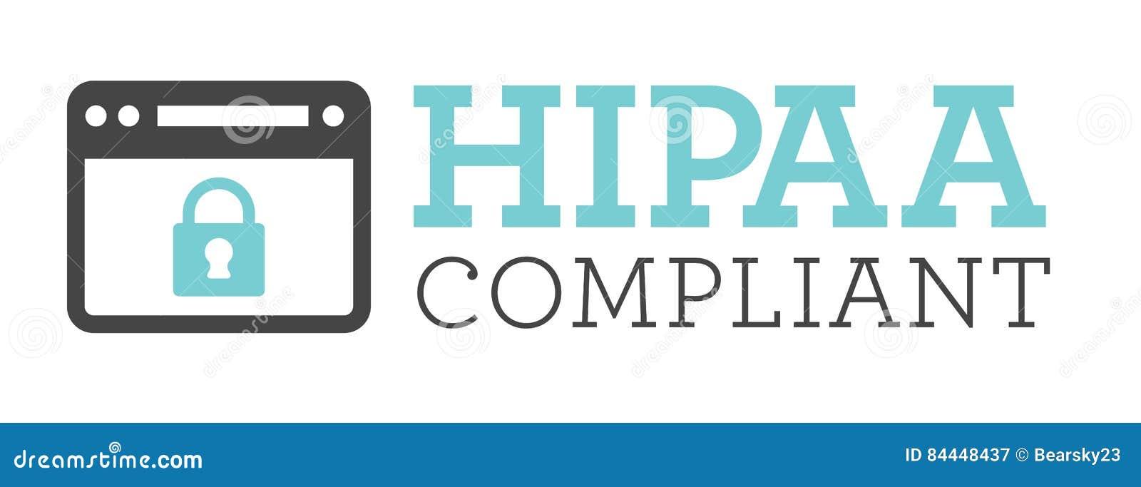 Diagram för HIPAA-överensstämmelsesymbol