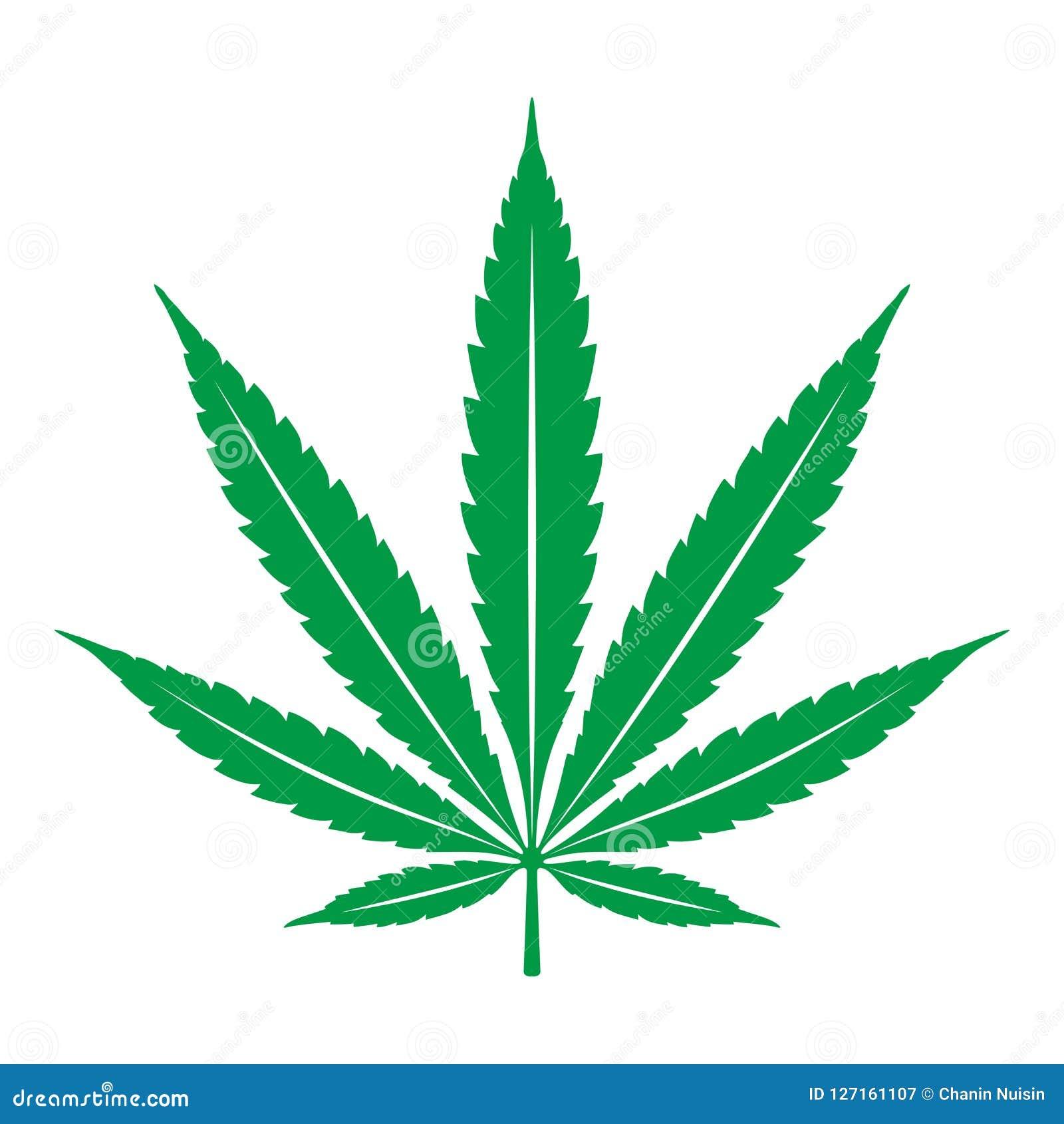 Diagram för illustration för konst för gem för logo för symbol för ogräs för marijuanacannabisblad