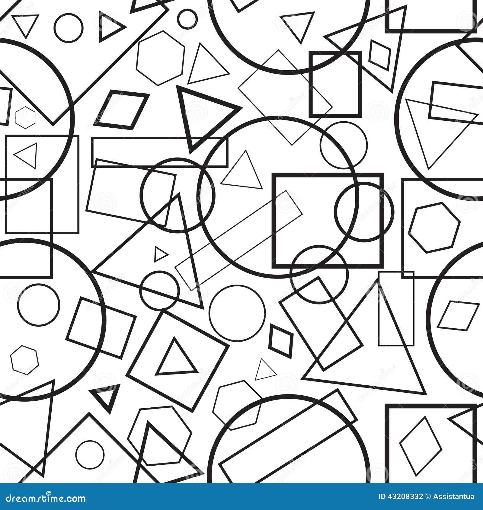 Download Diagram För Sömlös Modell För Vektorillustration Geometriska Vektor Illustrationer - Illustration av inget, illustration: 43208332