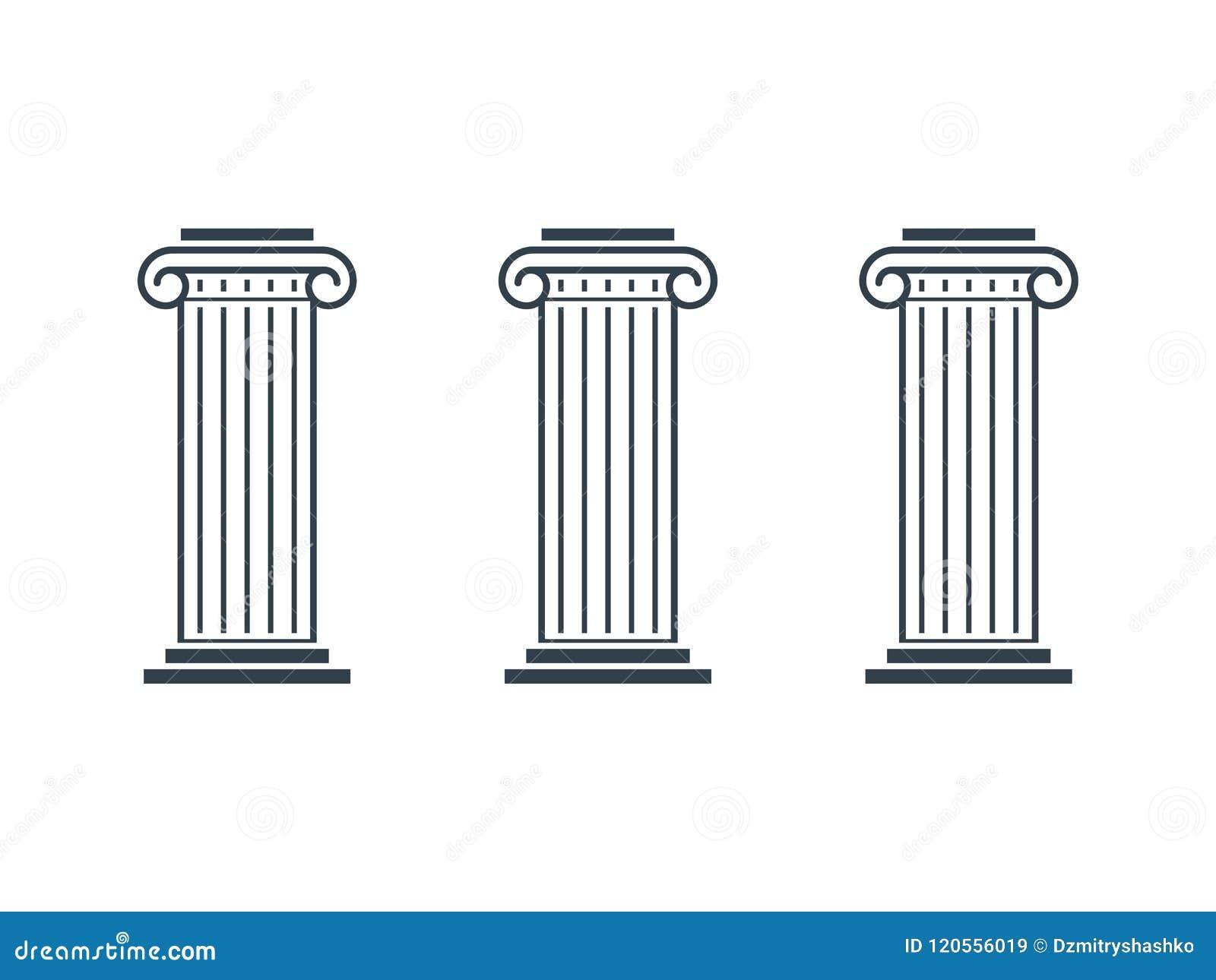 Diagram för tre pelare