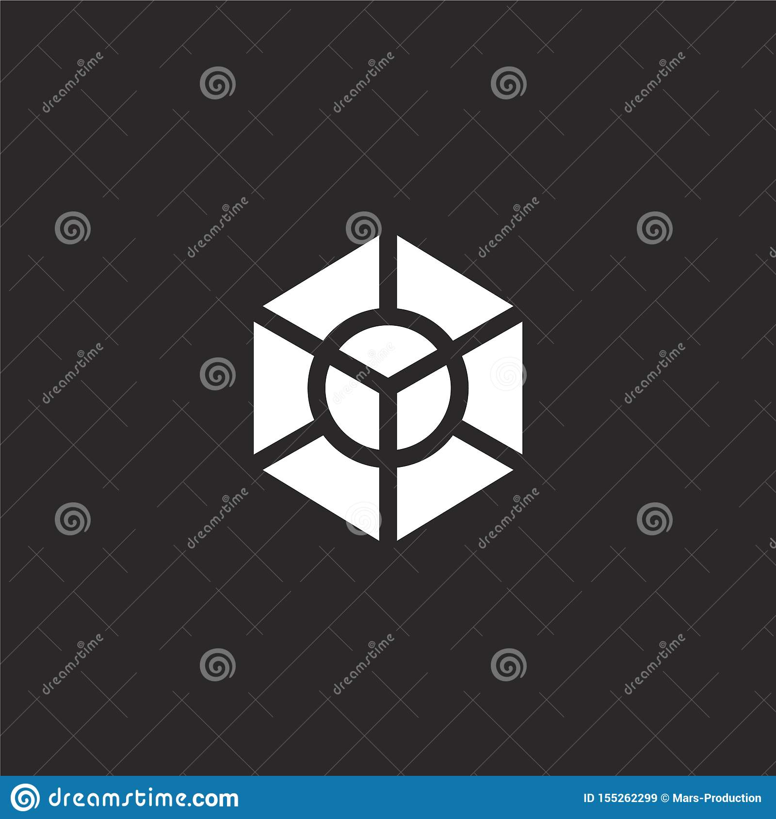 Diagram Icon  Filled Diagram Icon For Website Design And