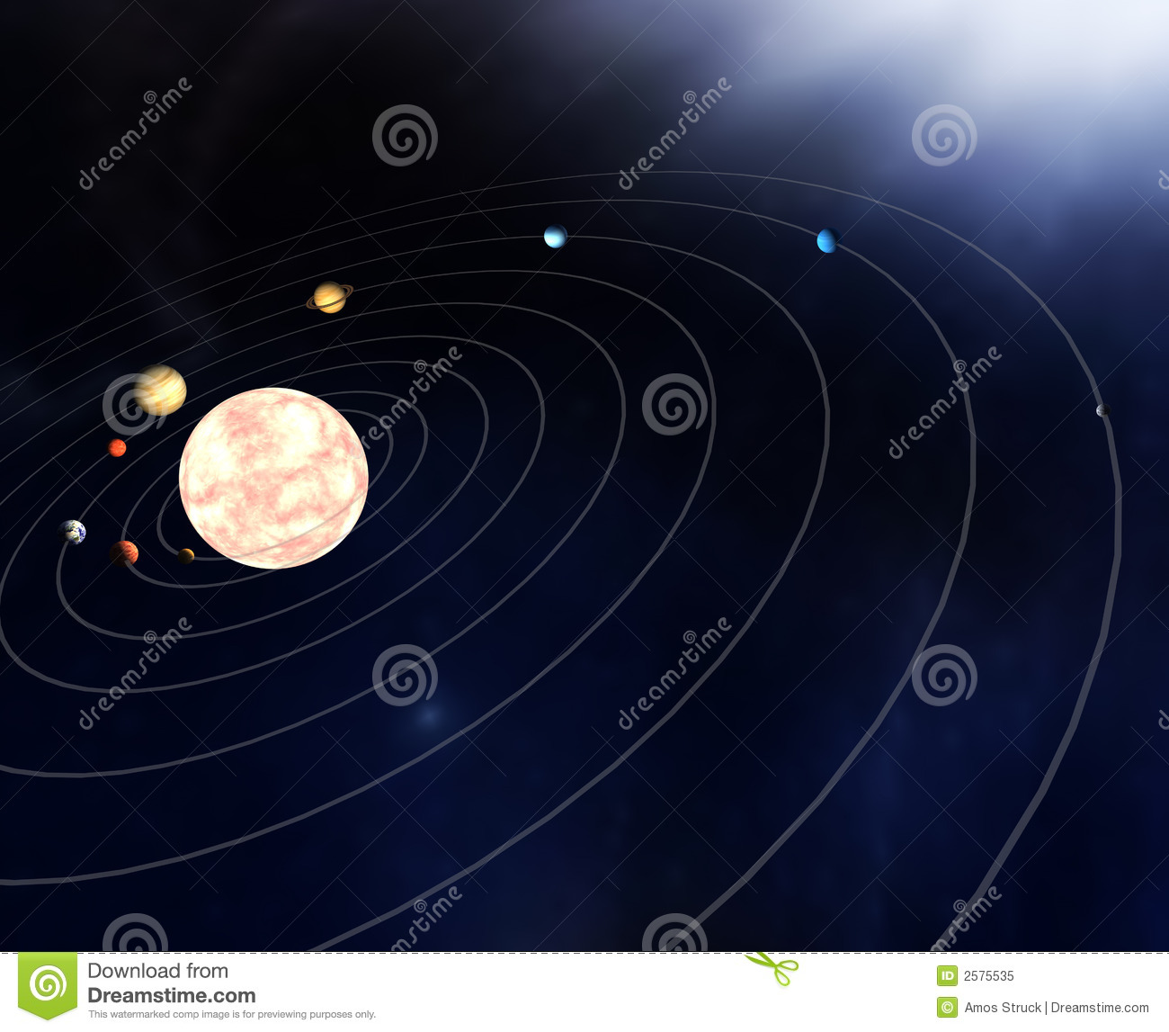 diagram of all the planets - photo #25