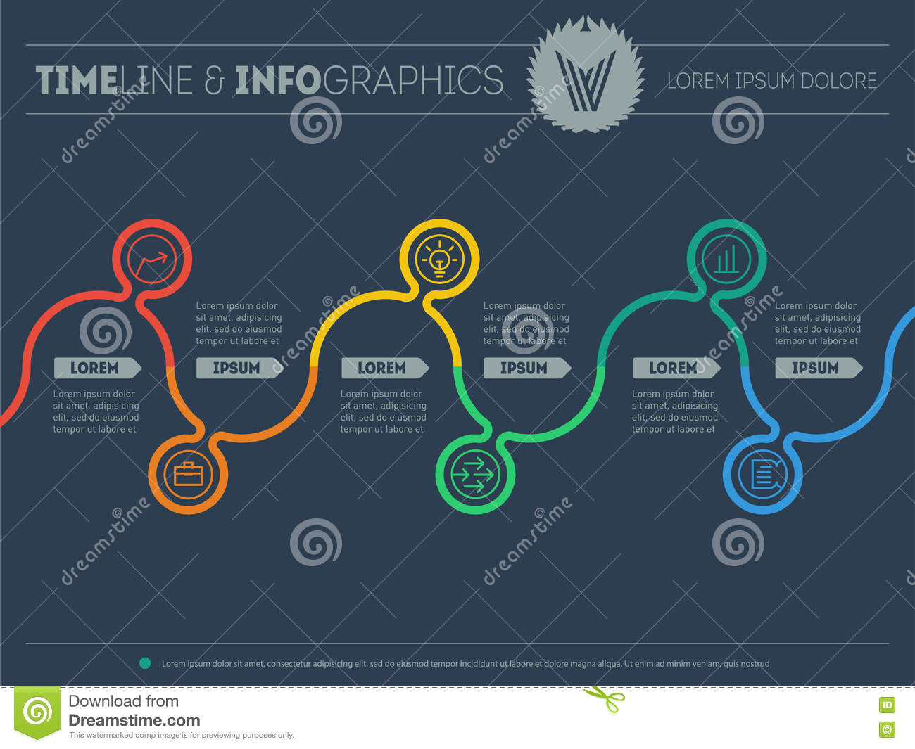 pr timeline template - diagram of tendencies and trends infographic timeline