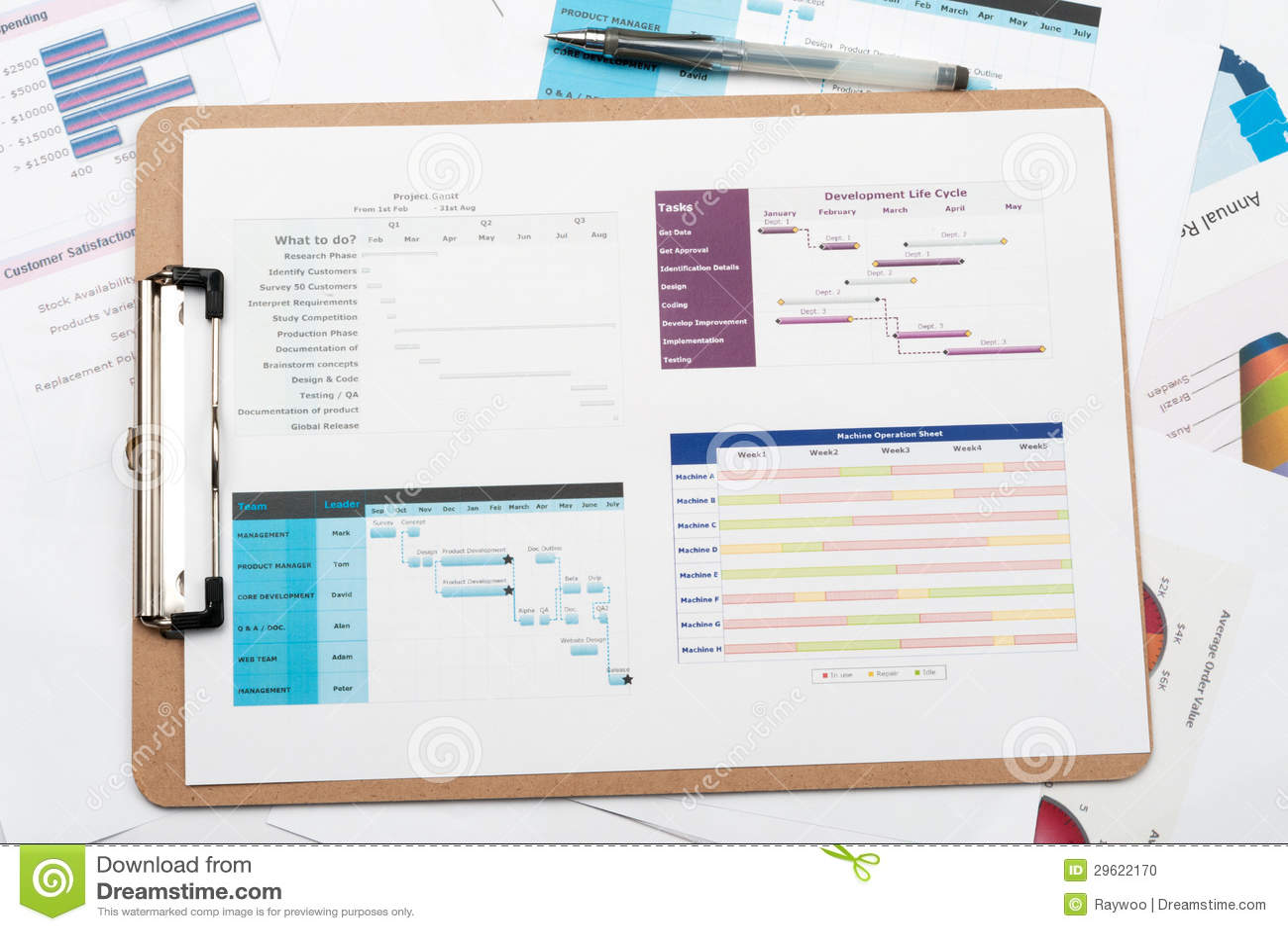 Diagrama de gantt foto de stock imagem de desempenho 29622170 download diagrama de gantt foto de stock imagem de desempenho 29622170 ccuart Gallery