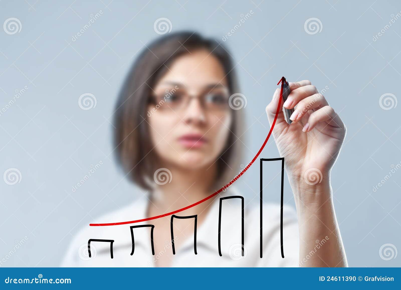 Diagrama del gráfico de la mujer