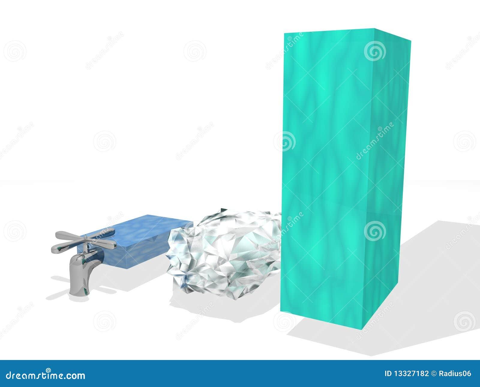 Diagrama zapasu woda