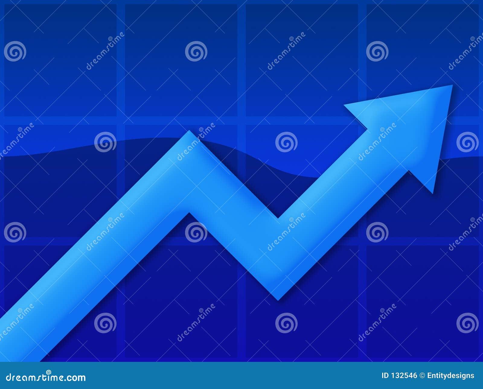 Diagramm-Blau