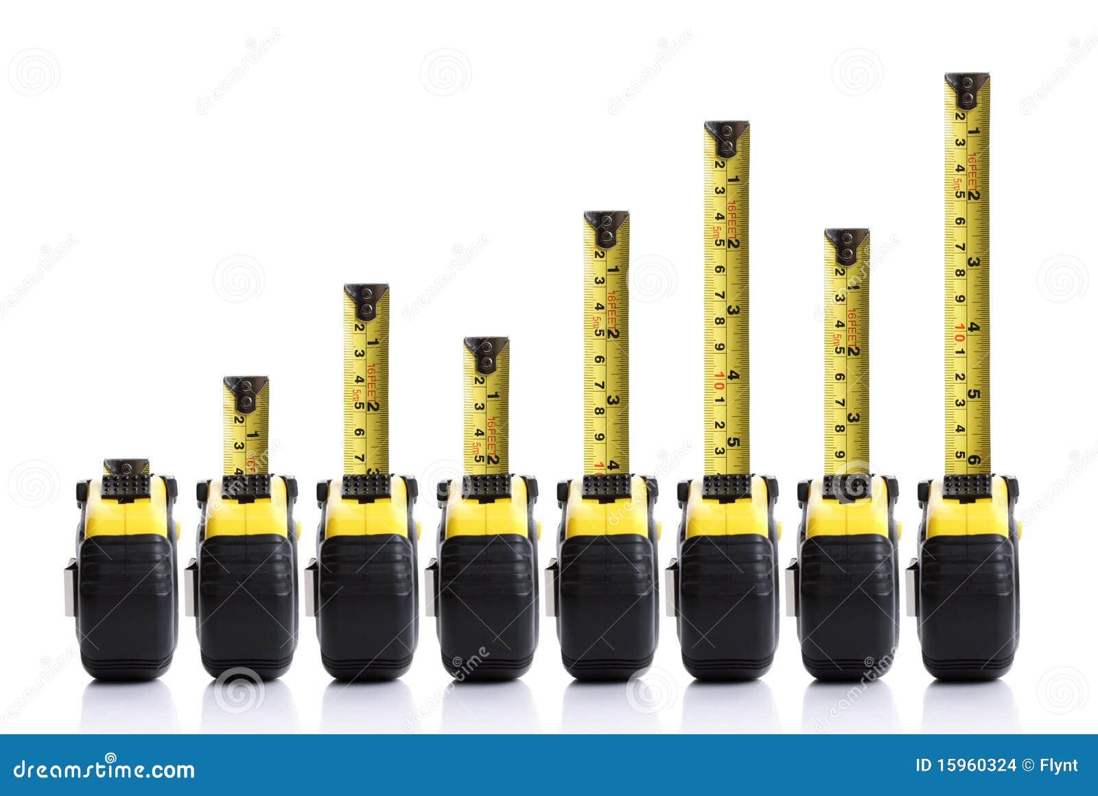 Diagramma a colonna di misura di nastro