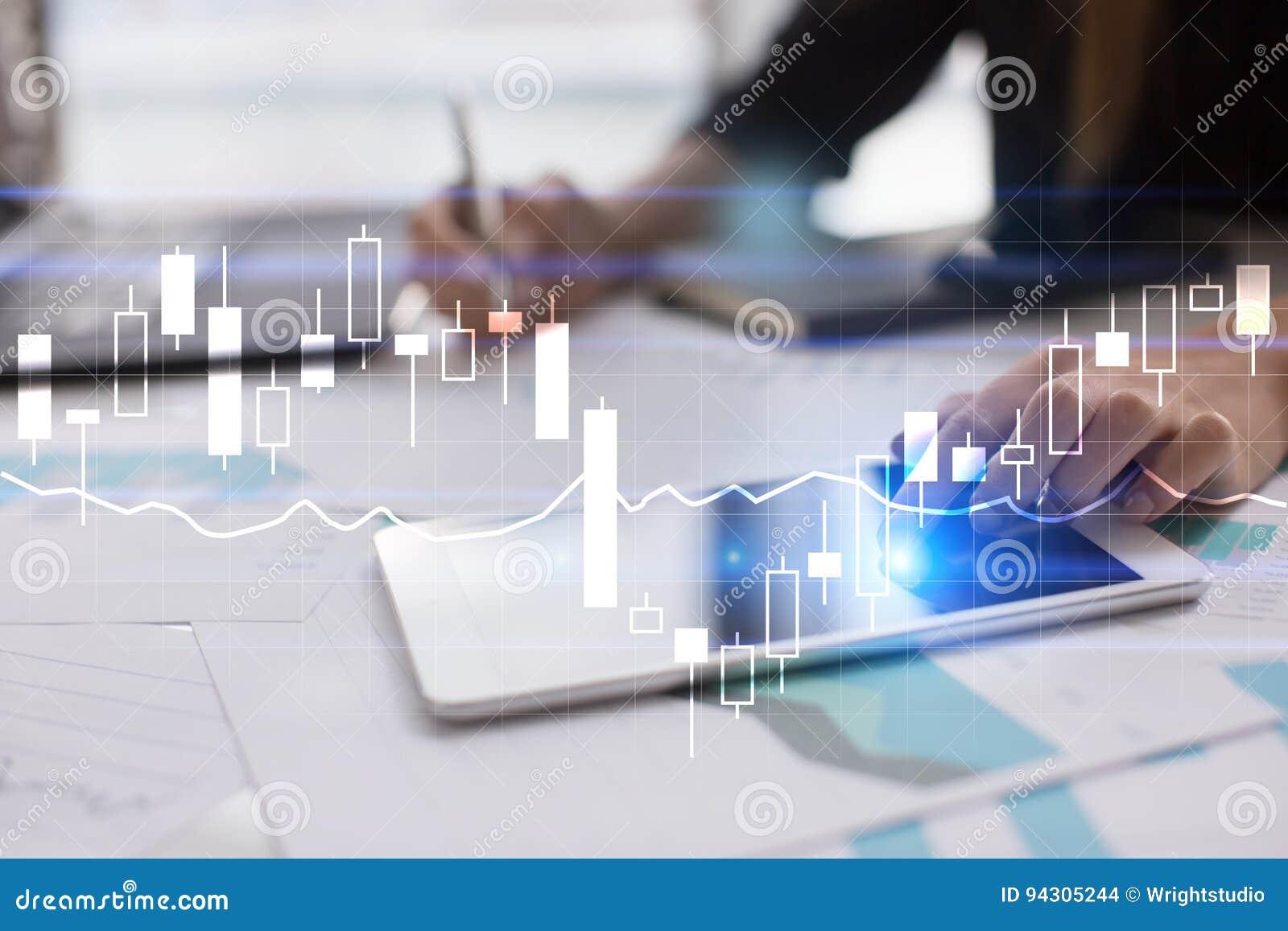 Diagrammes et graphiques Stratégie commerciale, concept de technologie d analyse de données