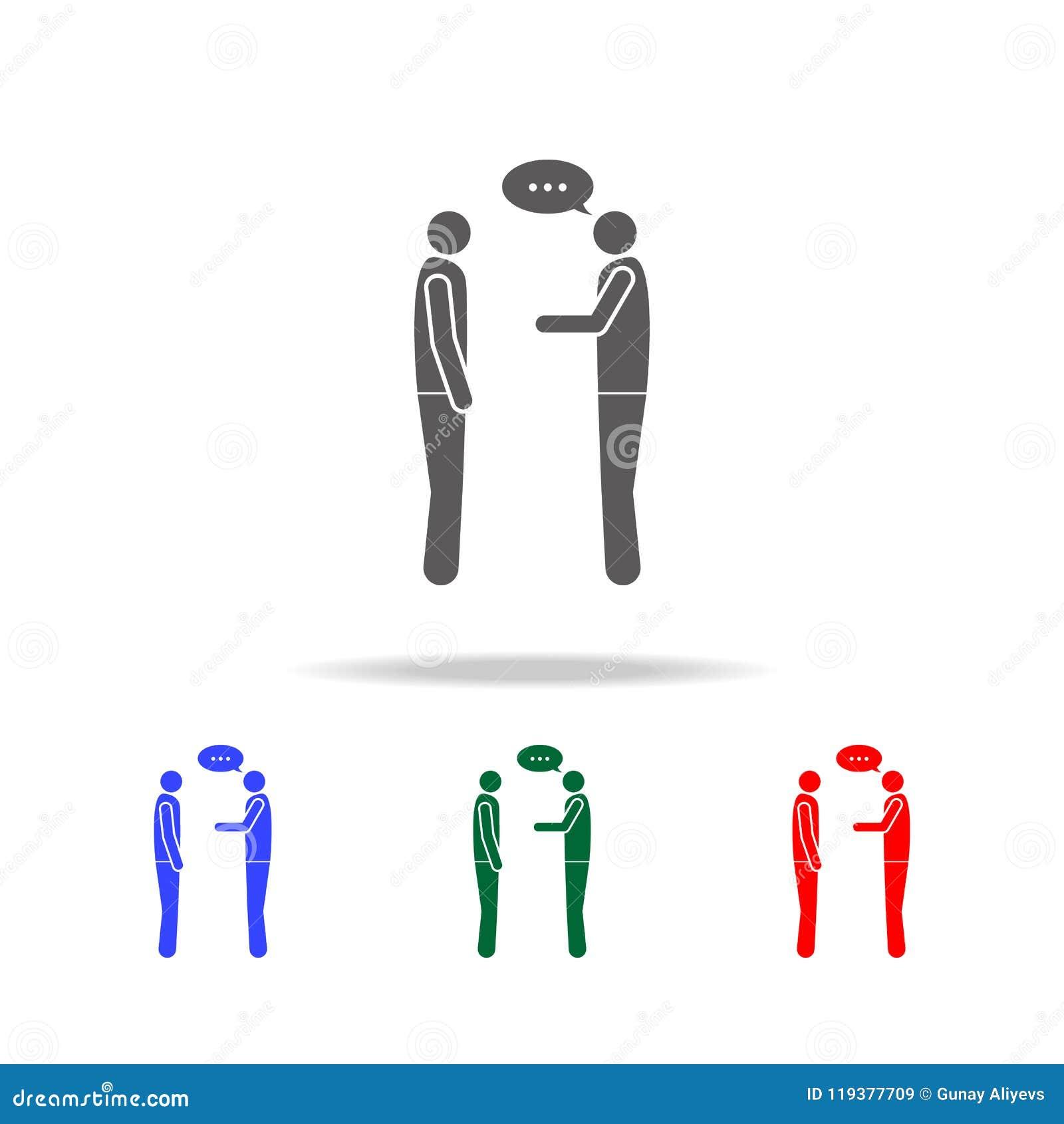 simple conversation between two people
