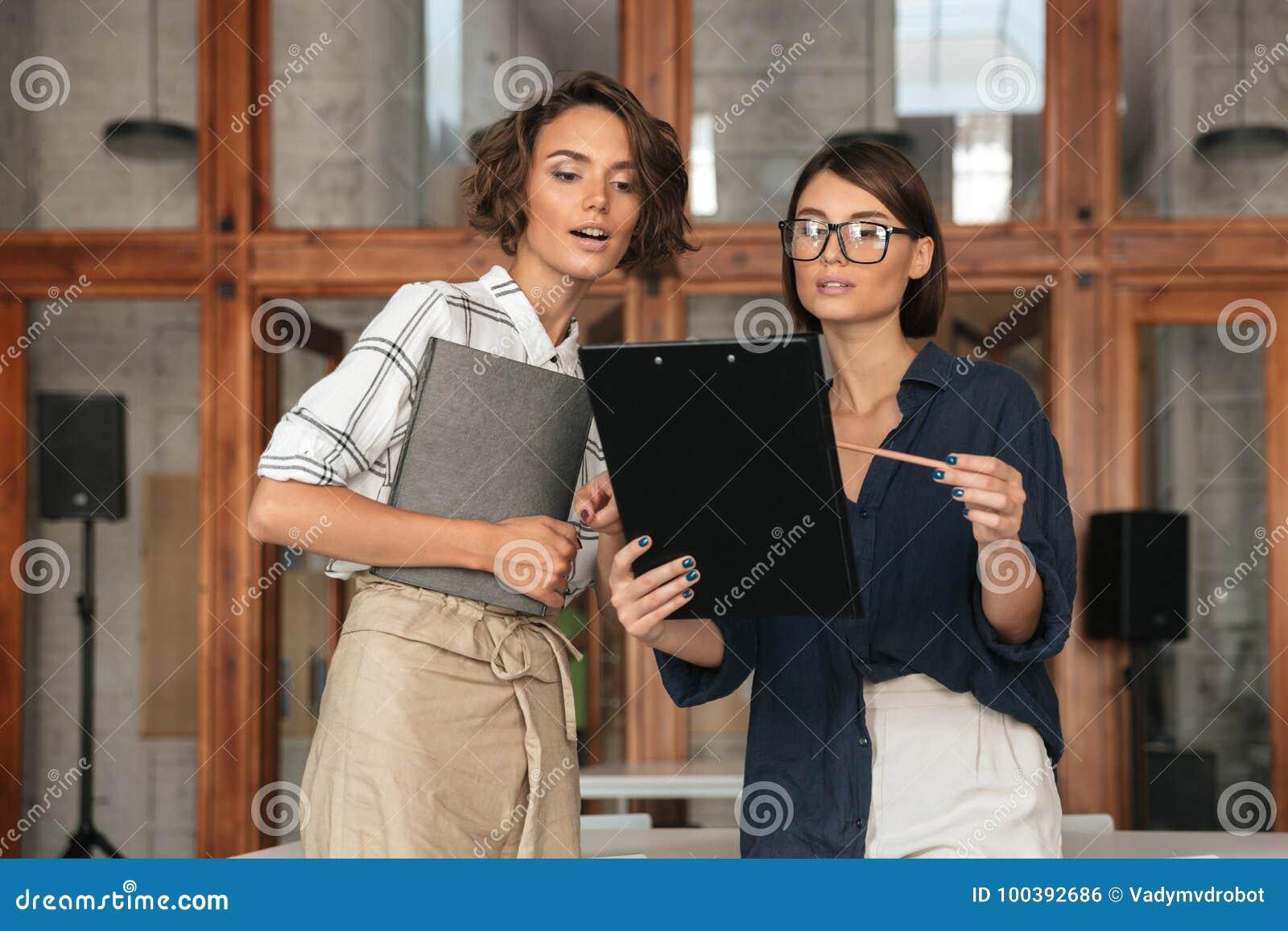 Dialogue of two women
