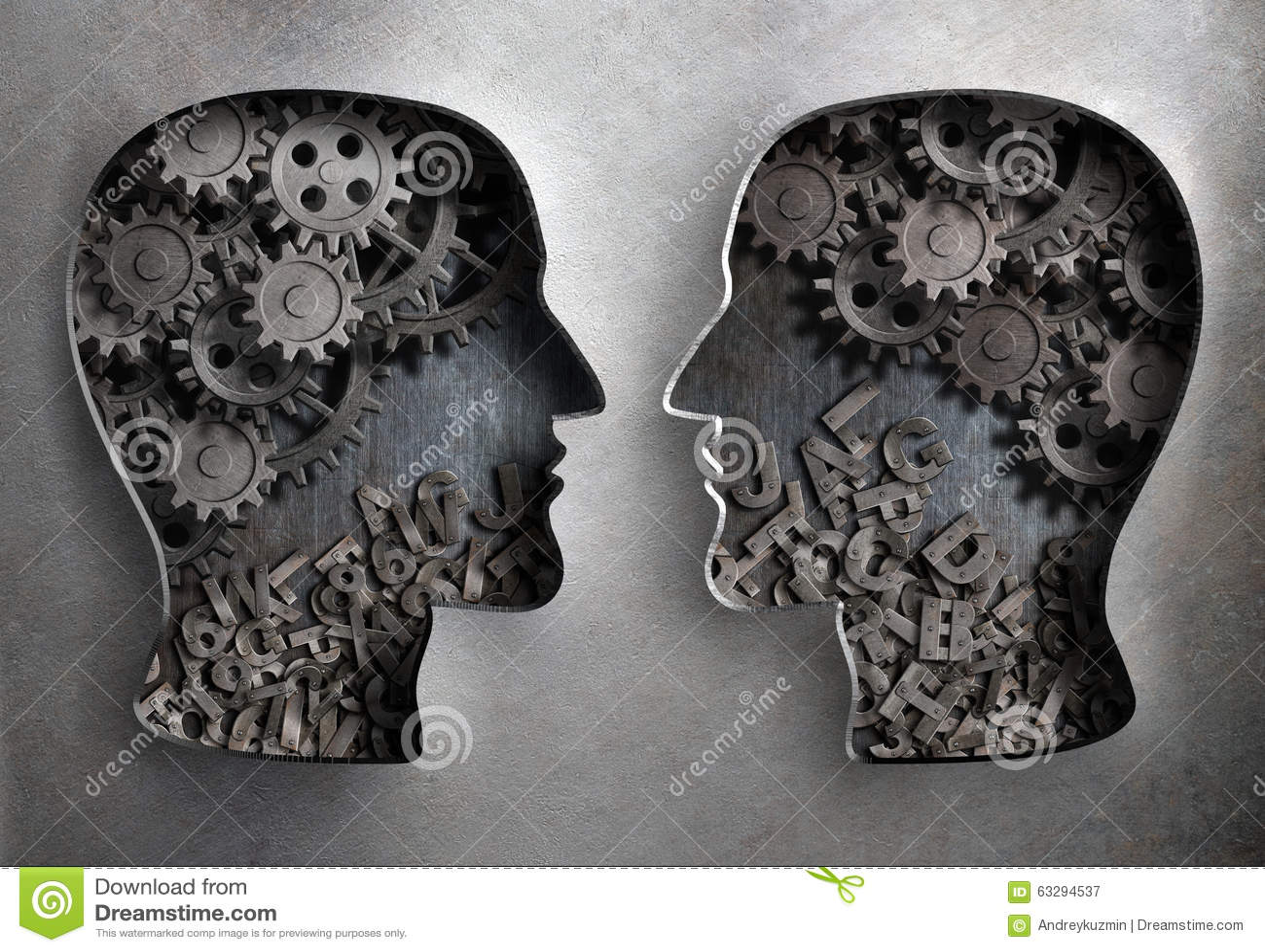 Dialoog of mededeling, informatie en kennis