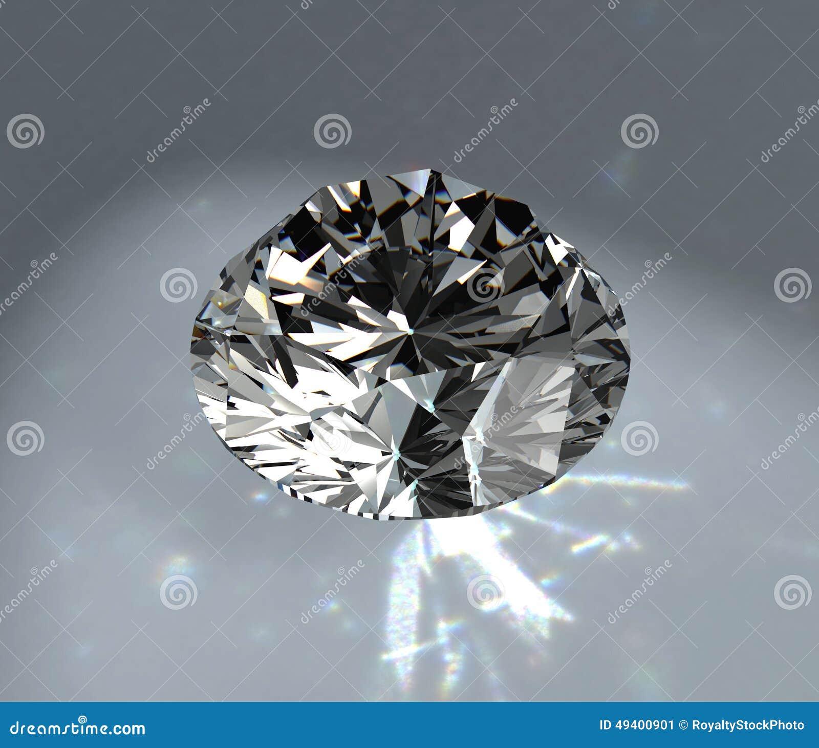 Download Diamant stock abbildung. Illustration von farbe, qualität - 49400901