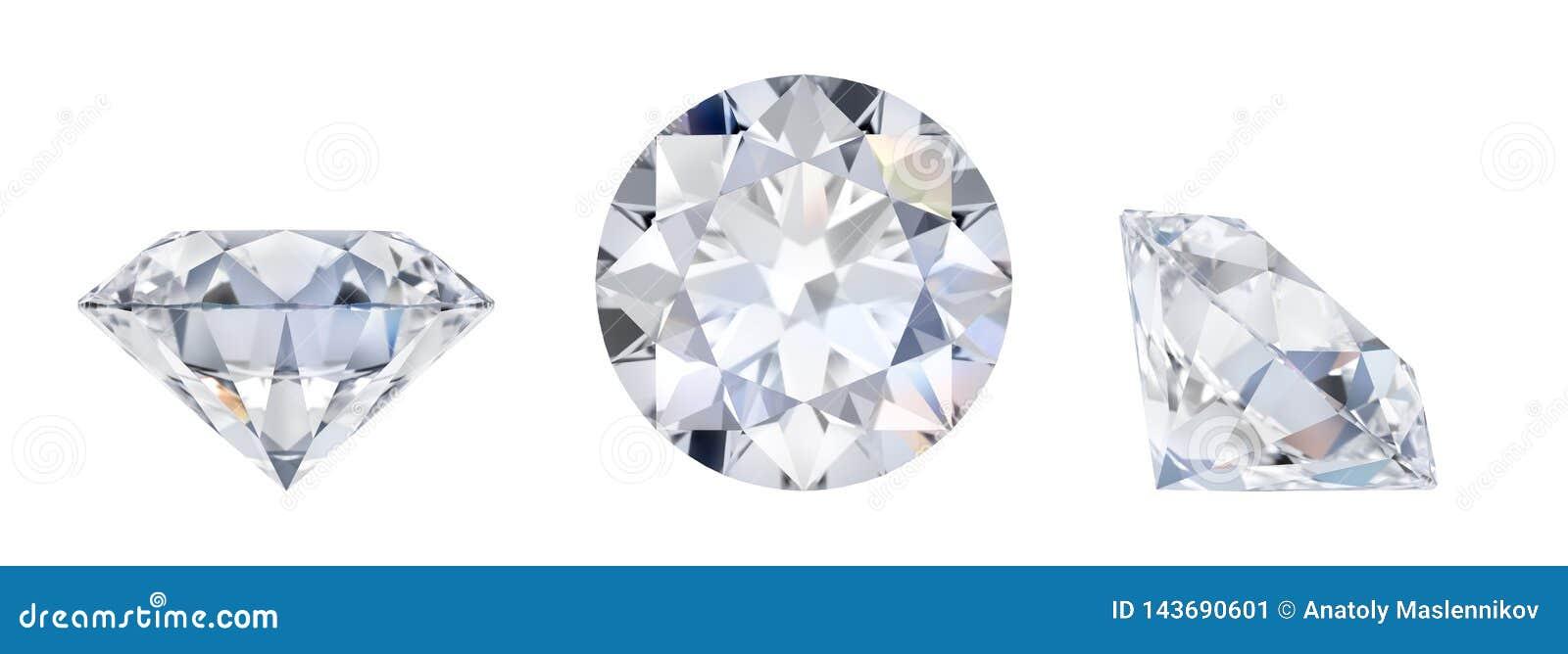 Diamant i tre mått